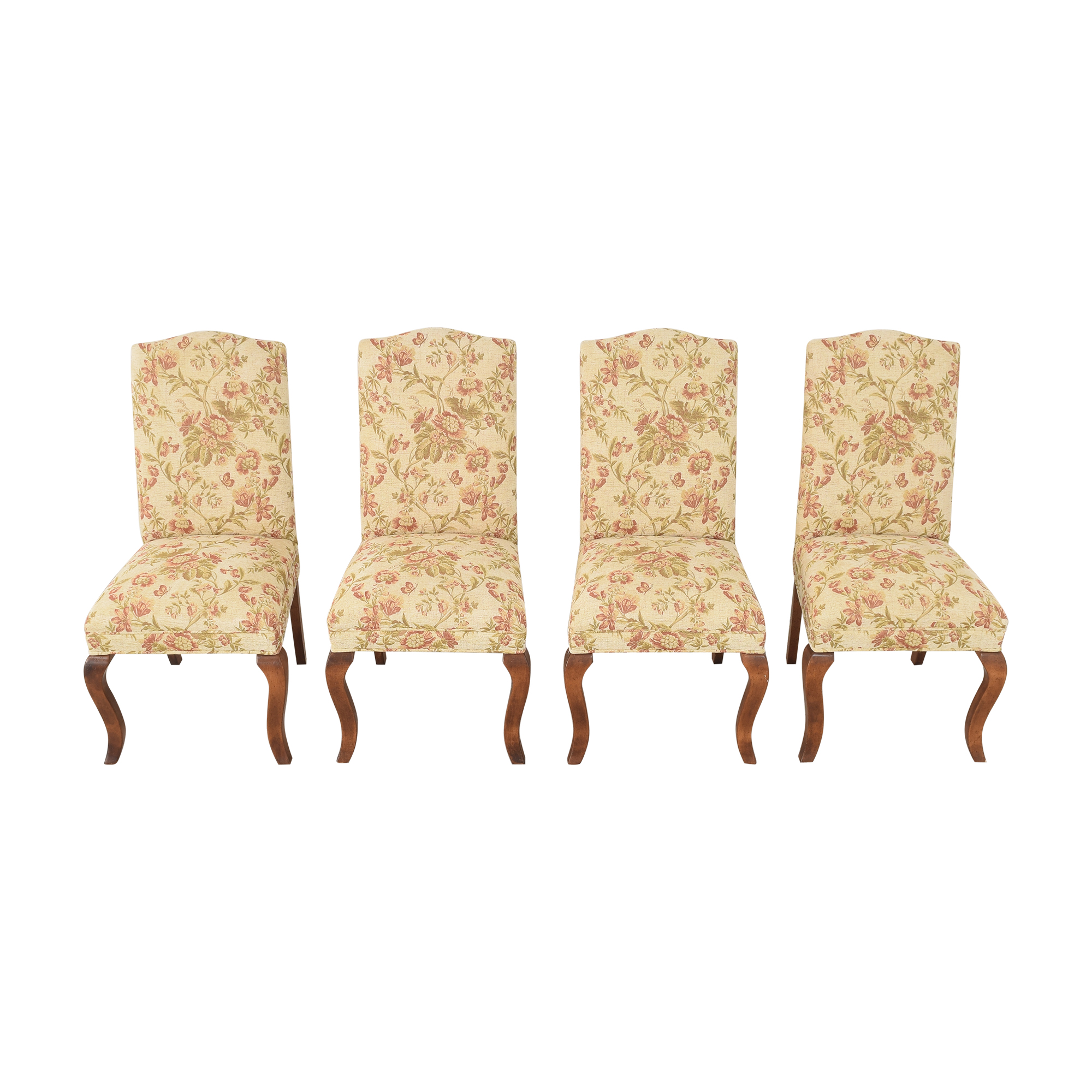 Queen Anne Upholstered Dining Chairs nyc