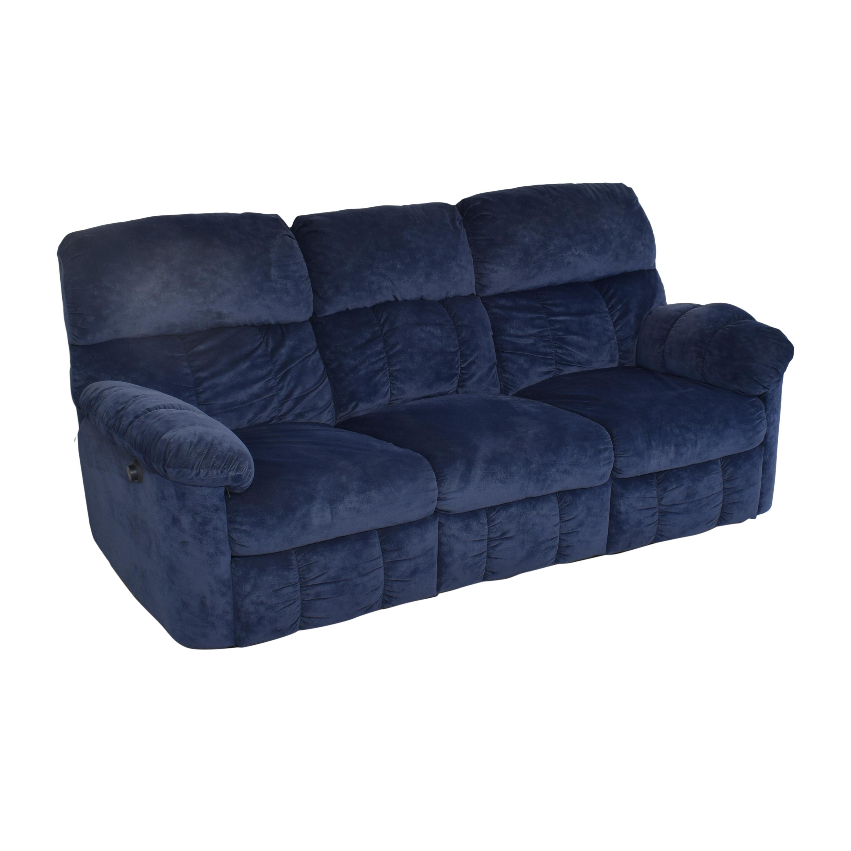 shop Berkline Double Recliner Sofa Berkline Chairs