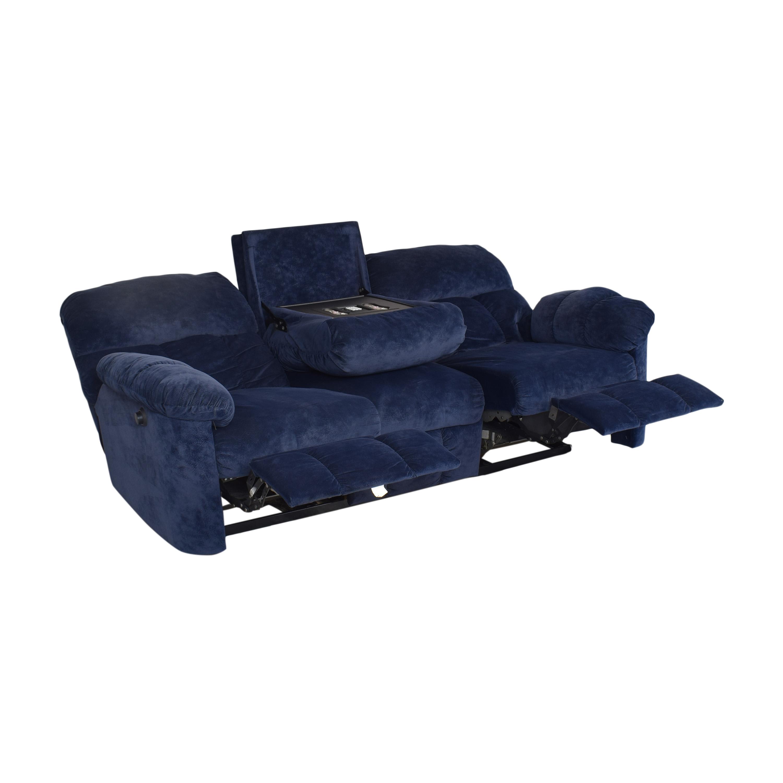 Berkline Berkline Double Recliner Sofa pa