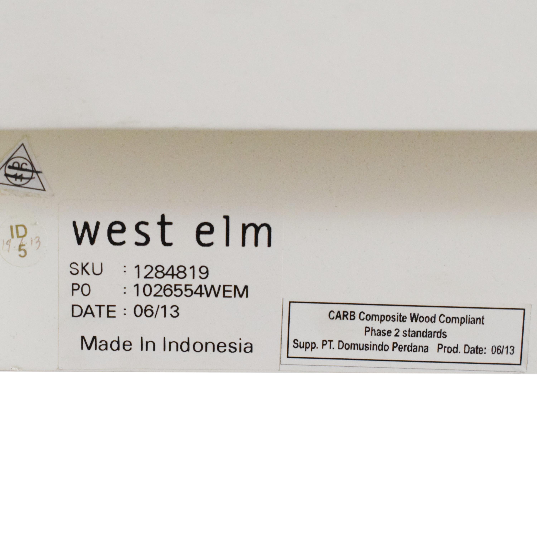 shop West Elm Tall Cutout Queen Headboard West Elm Headboards
