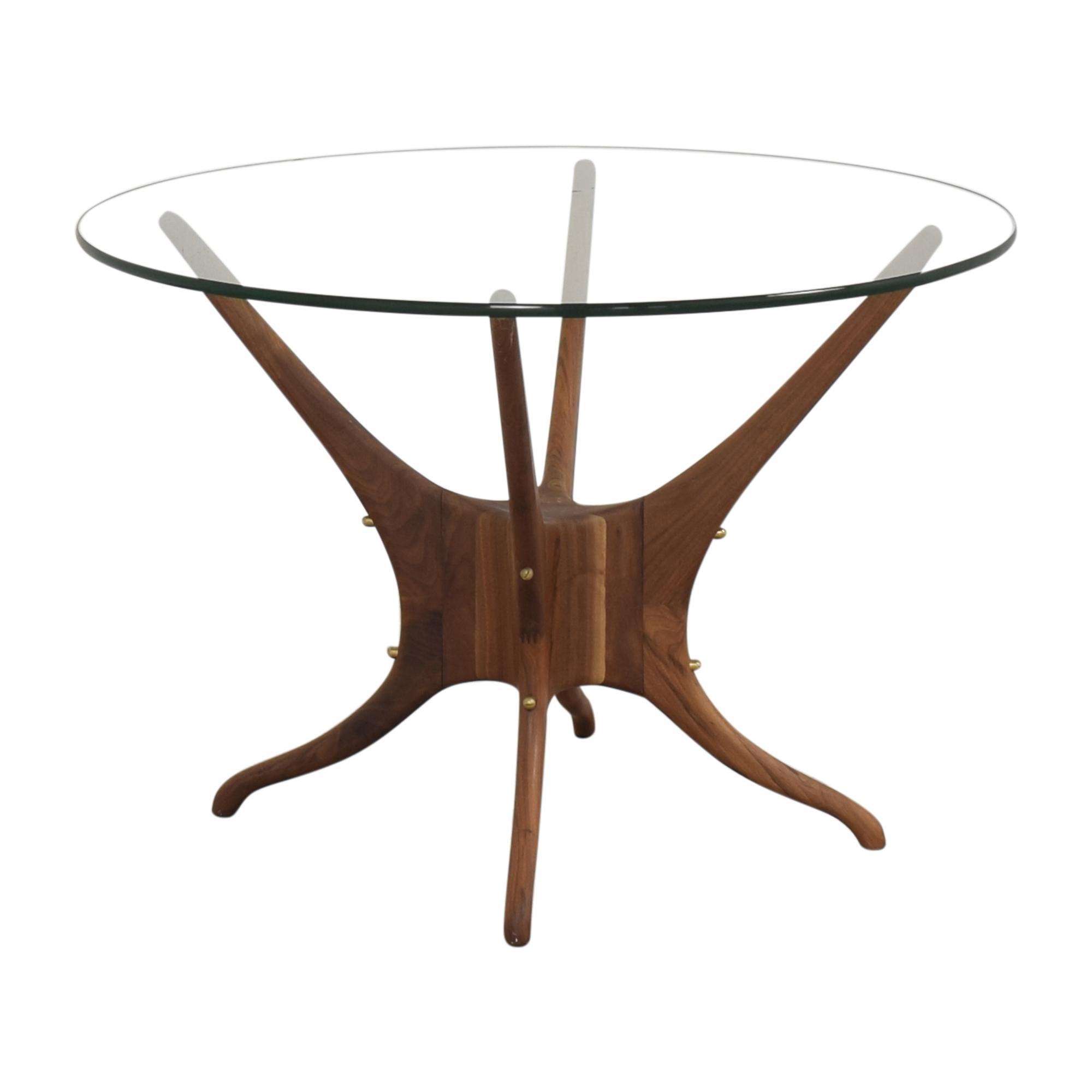 Organic Modernism Okto Round Dining Table Organic Modernism