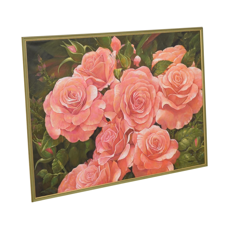 Framed Flower Wall Art ma
