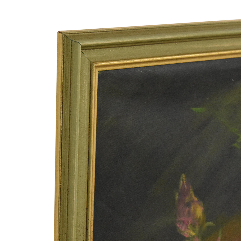 Framed Flower Wall Art on sale