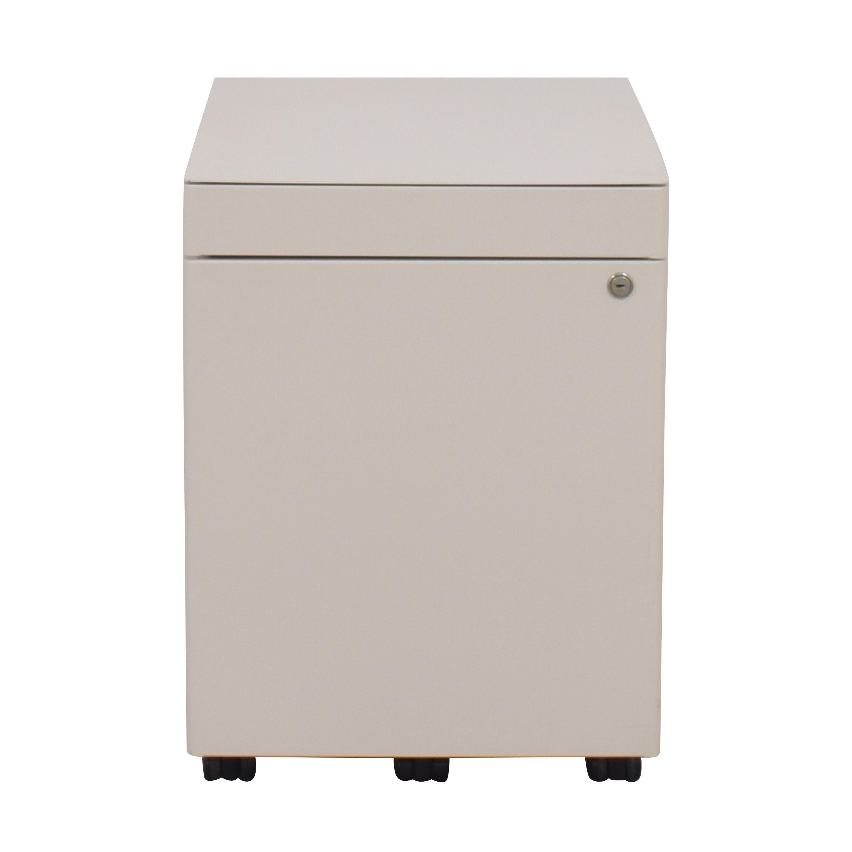 shop Vitra ABC Mobile Pedestal Filing Cabinet Vitra Storage
