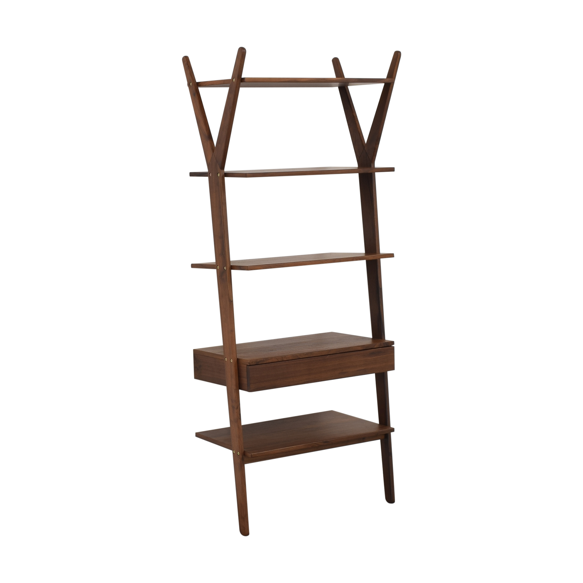 Article Article Lignum Walnut Bookshelf discount