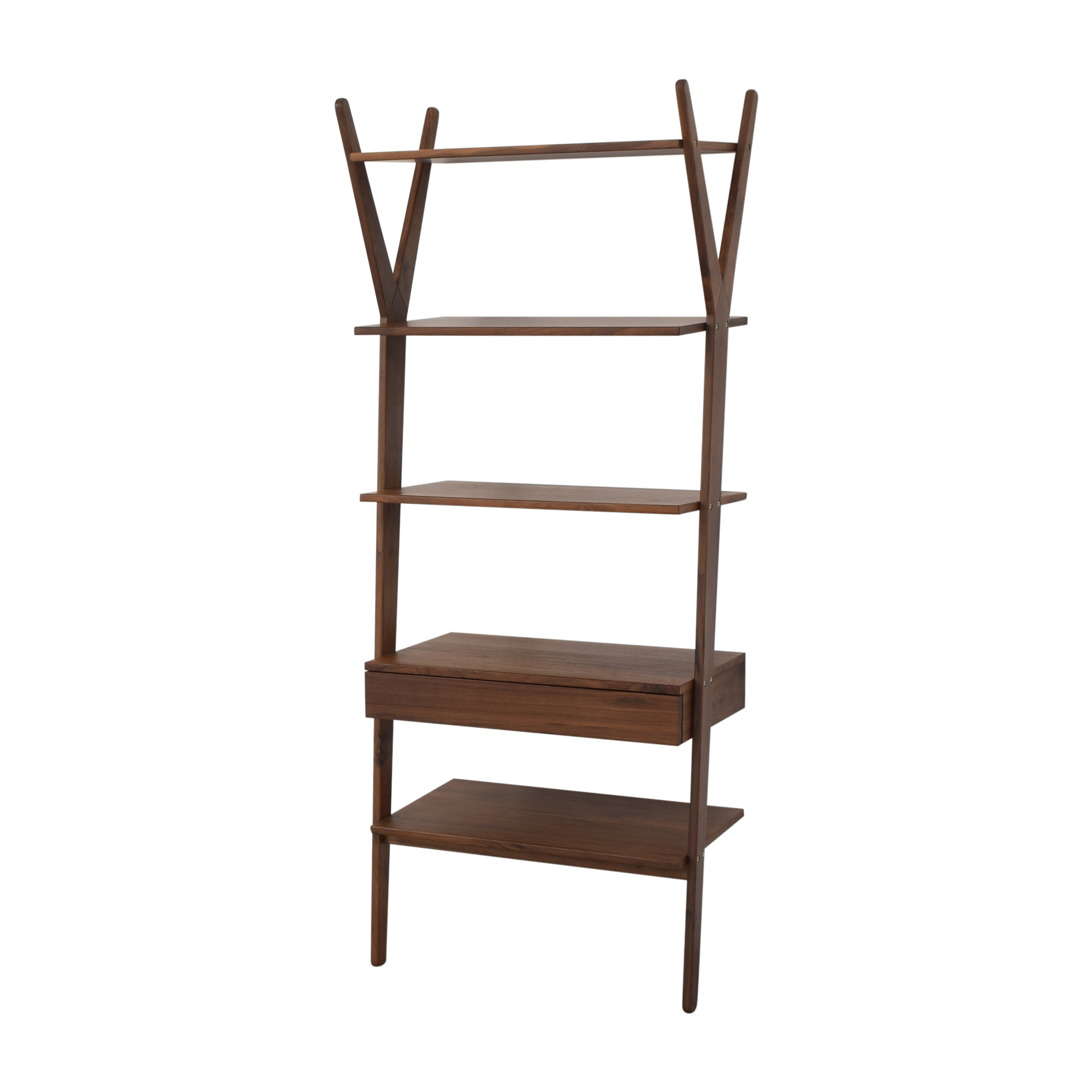 Article Article Lignum Walnut Bookshelf