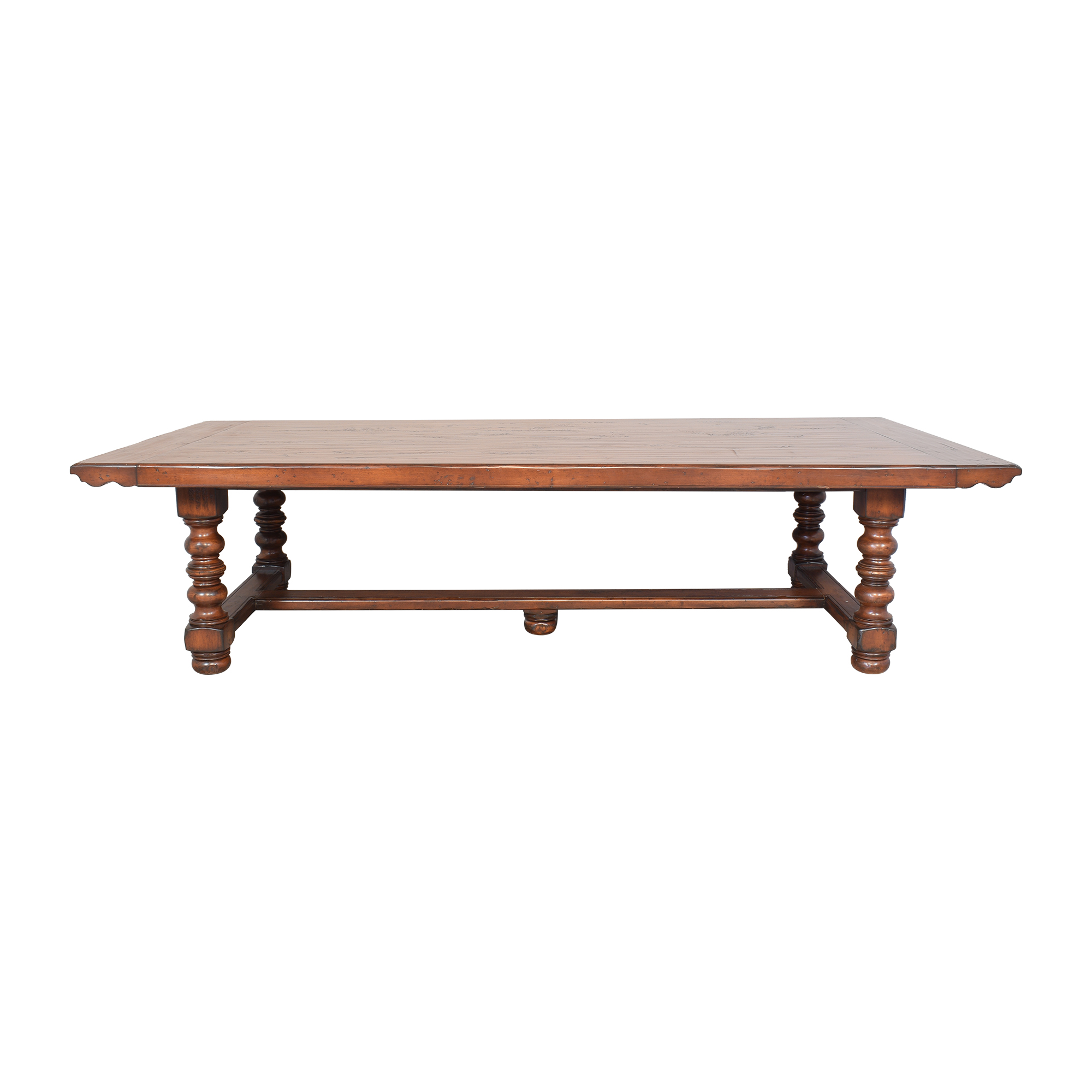 shop Woodland Furniture Holcomb Extendable Dining Table Woodland Furniture Dinner Tables