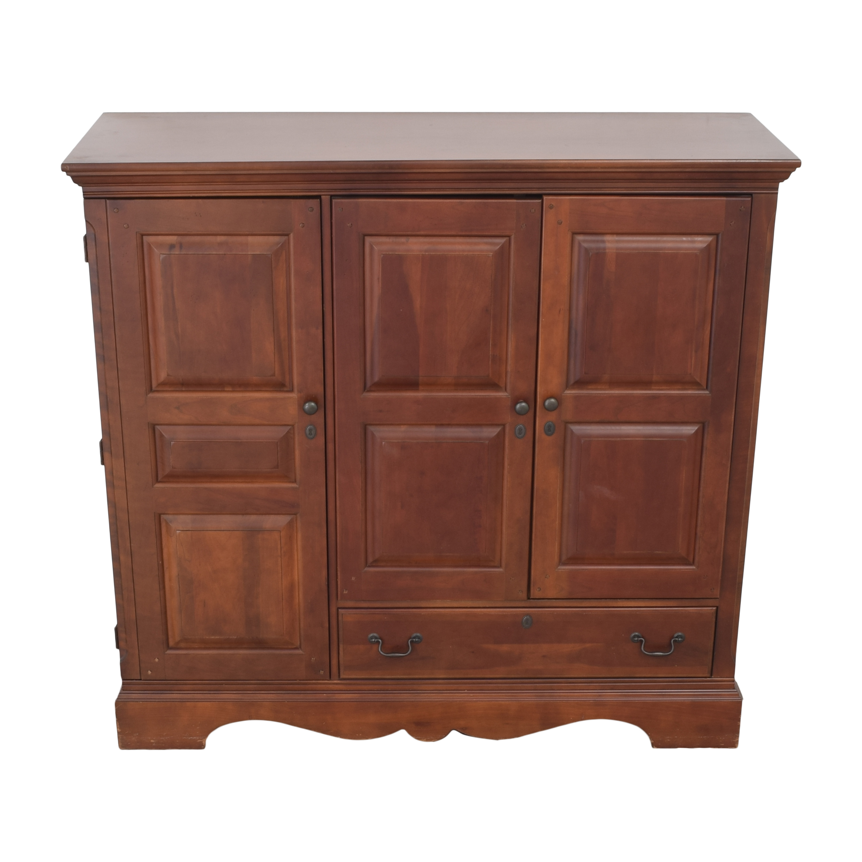 Macy's Macy's Entertainment Center Cabinet brown