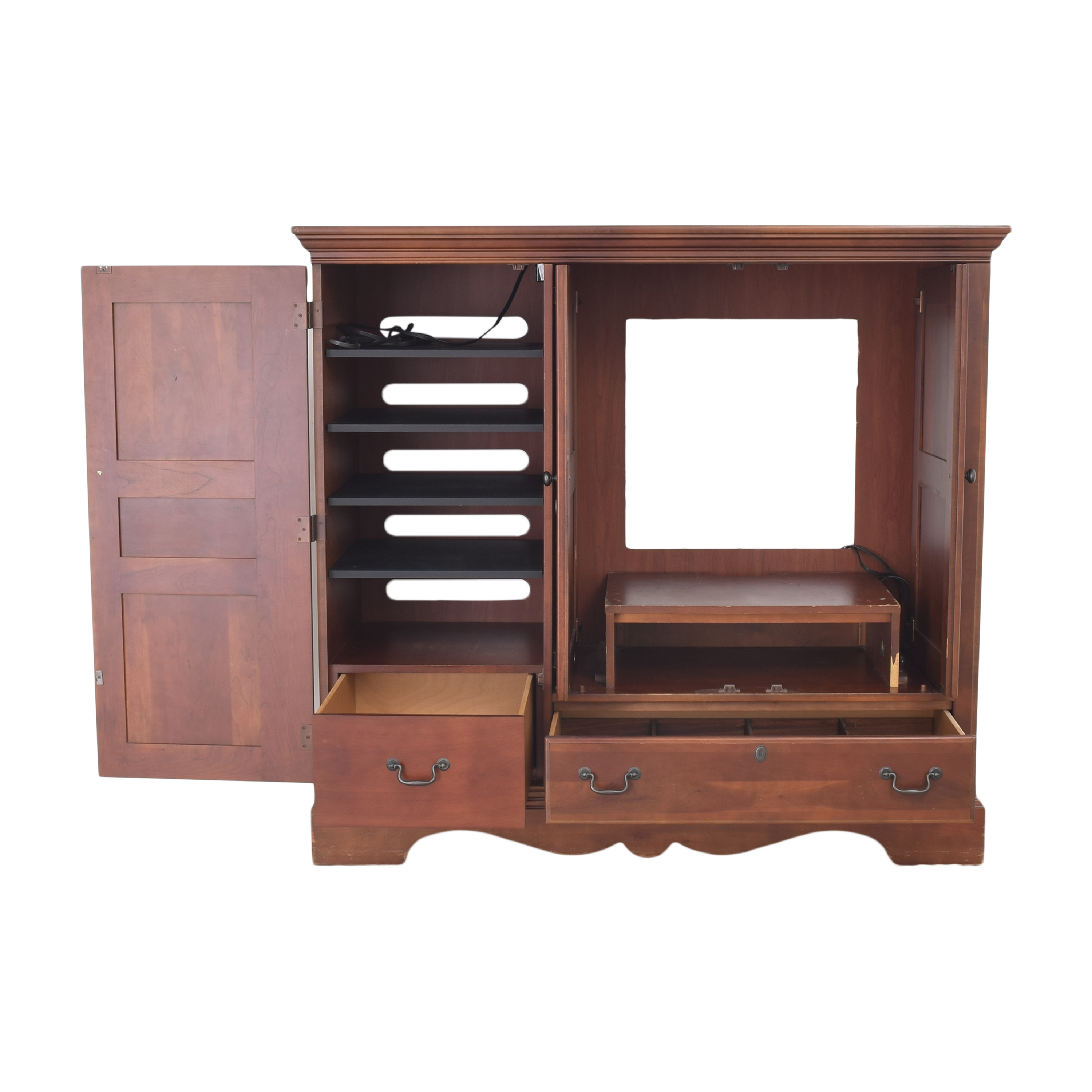 buy Macy's Entertainment Center Cabinet Macy's