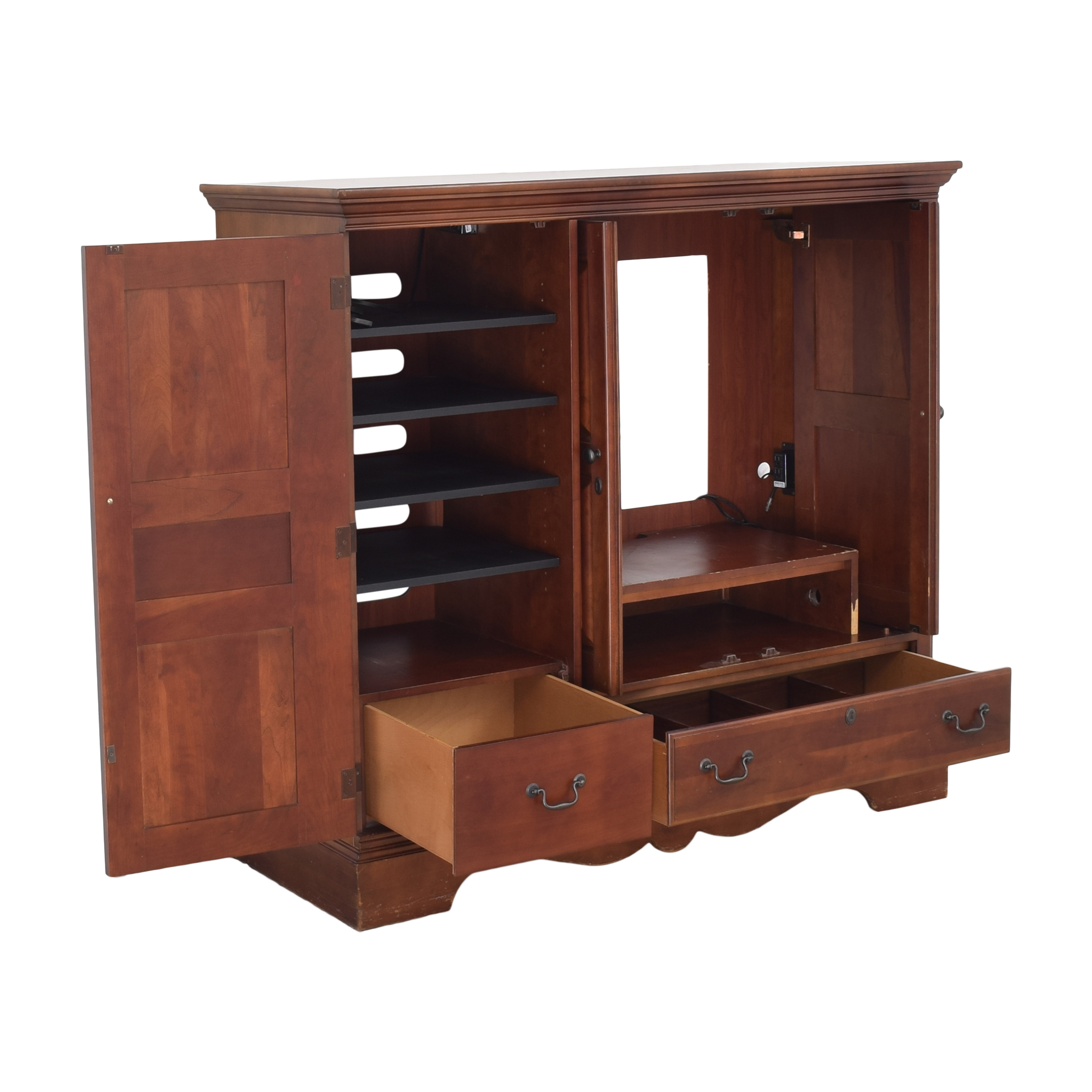 Macy's Macy's Entertainment Center Cabinet used