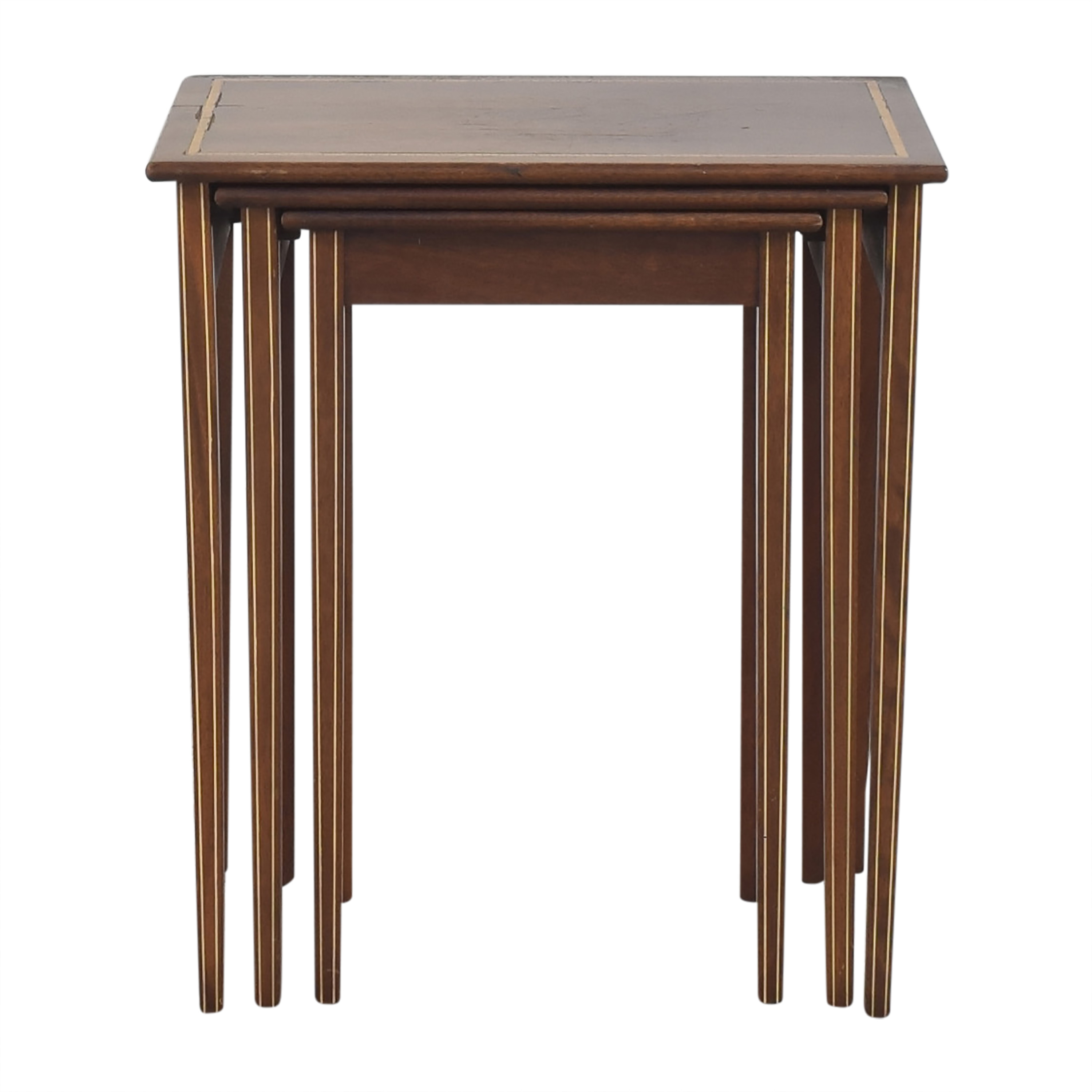 Nesting End Tables used
