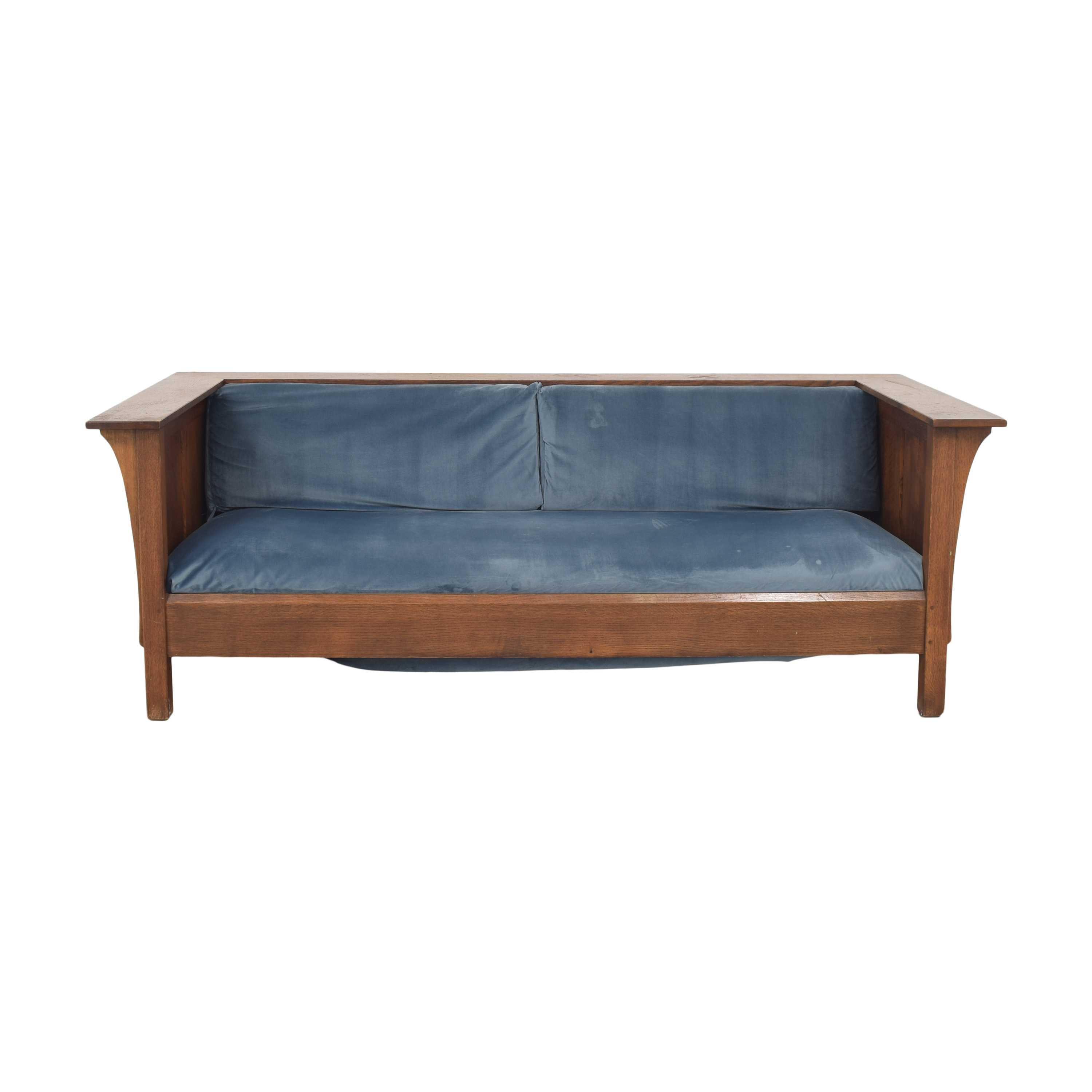 Stickley Furniture Stickley Mission Collection Prairie Settle Sofa coupon