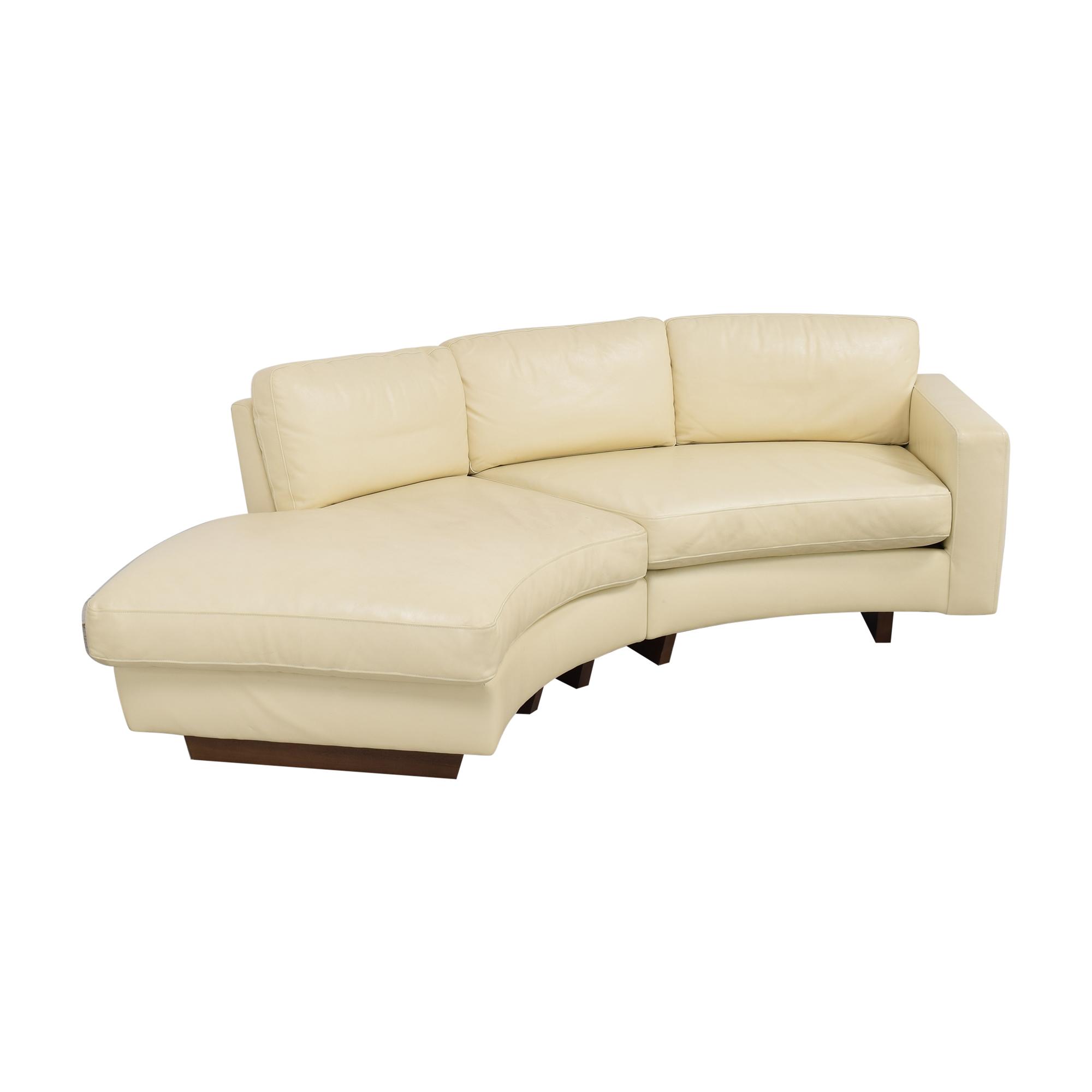 Thayer Coggin Clip 2 Sectional Sofa / Sofas