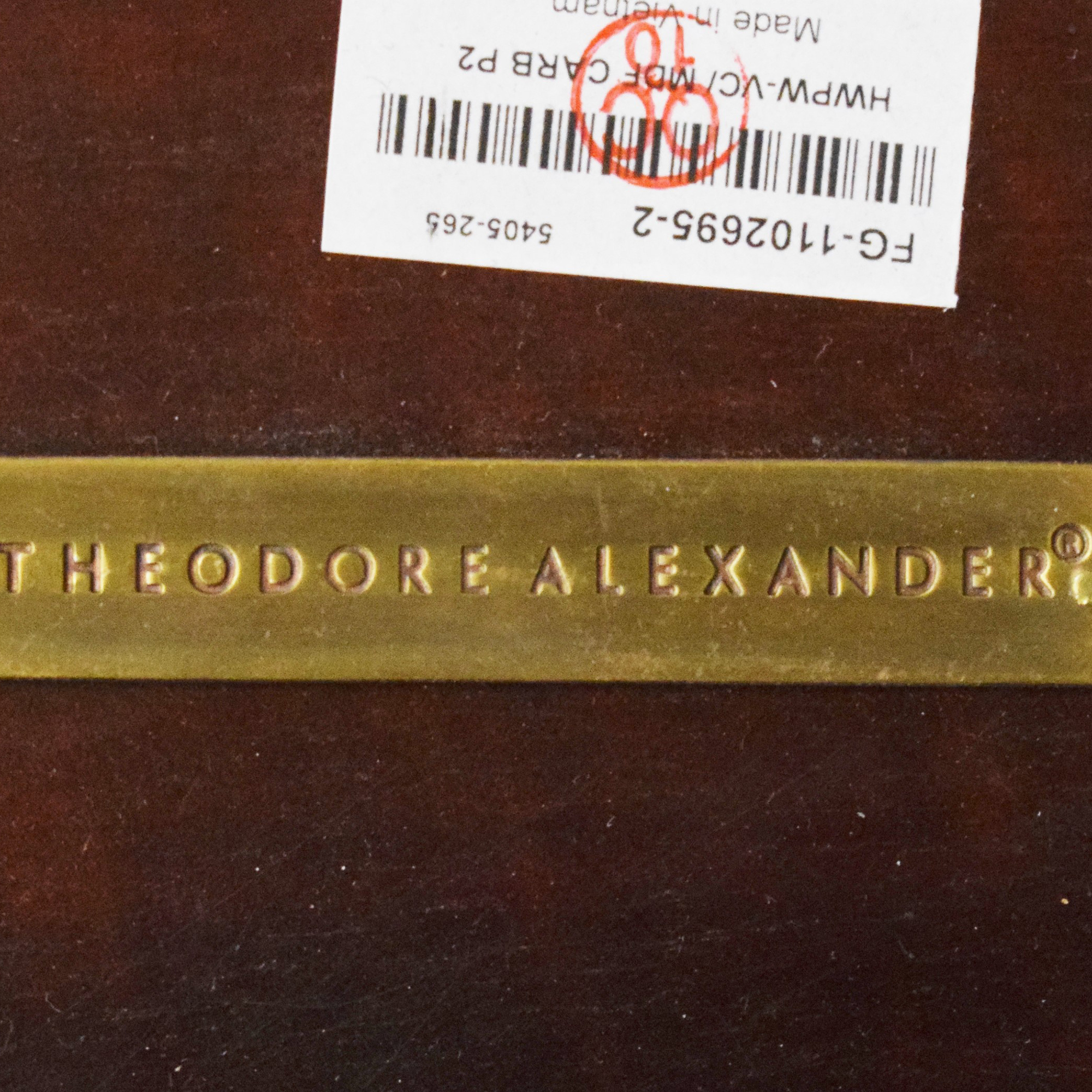 Theodore Alexander Theodore Alexander Extending Dining Table second hand