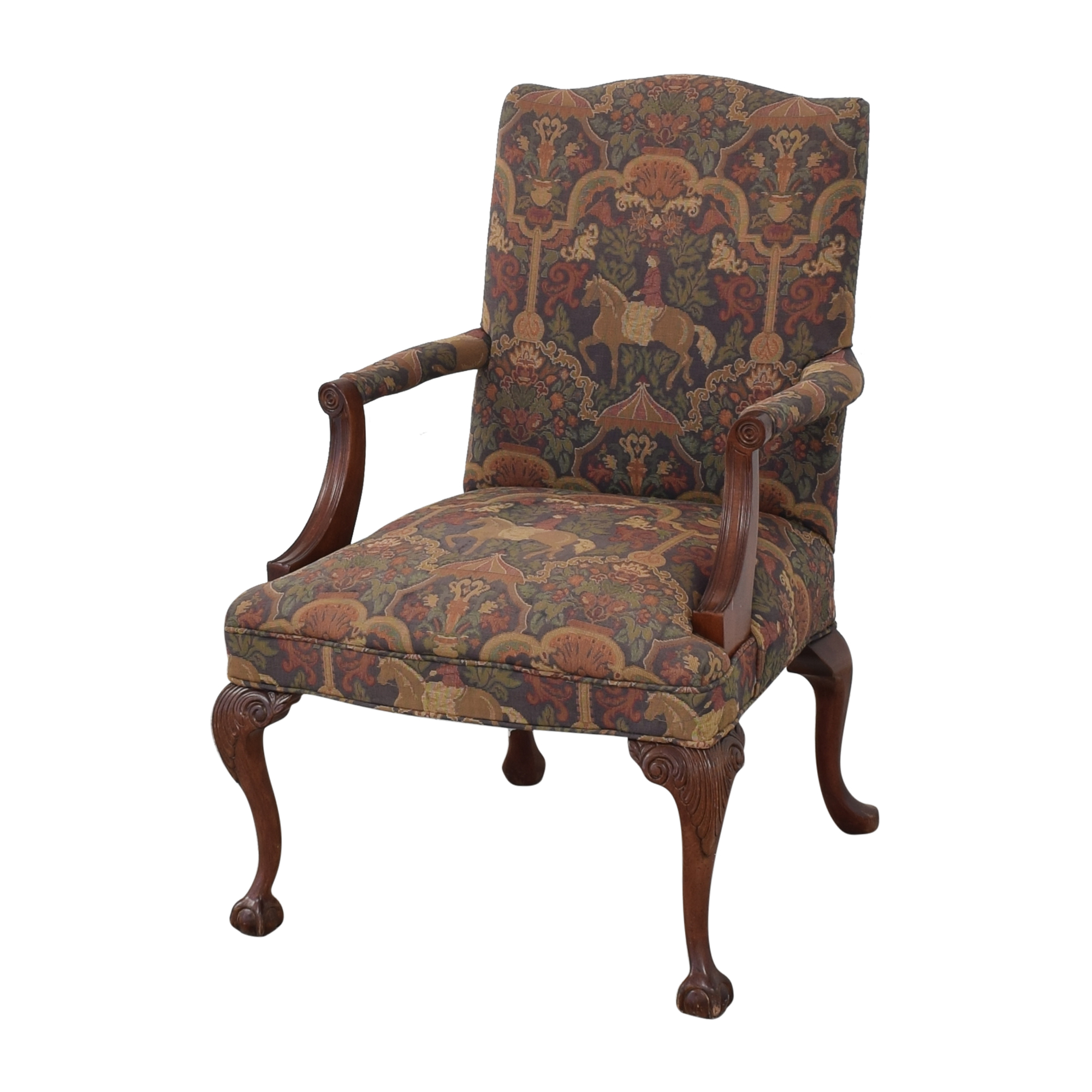 Sam Moore Sam Moore Decorative Arm Chair Accent Chairs