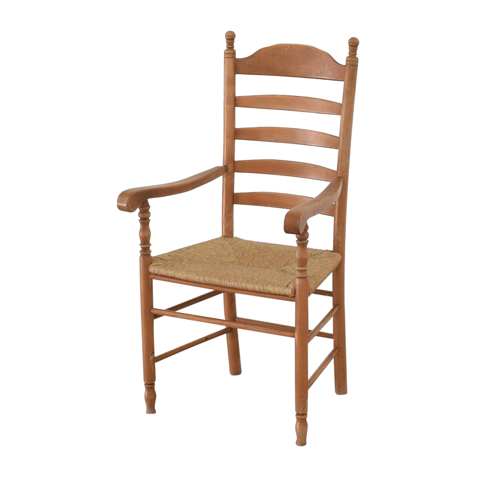 shop Custom Tall Back Arm Chairs