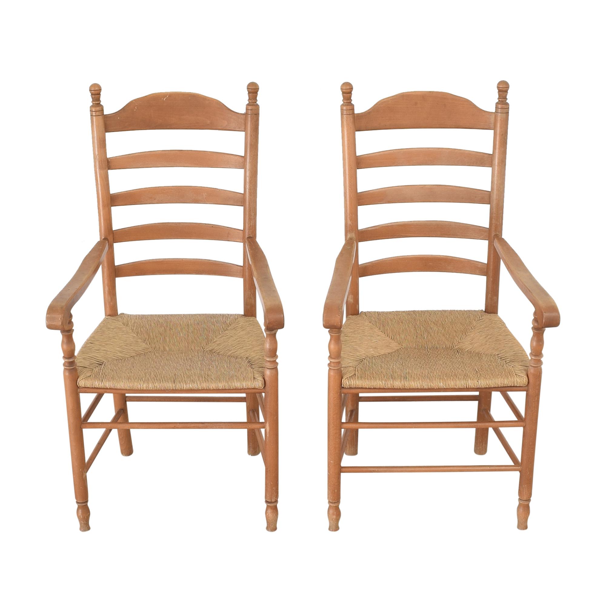 Custom Tall Back Arm Chairs nyc