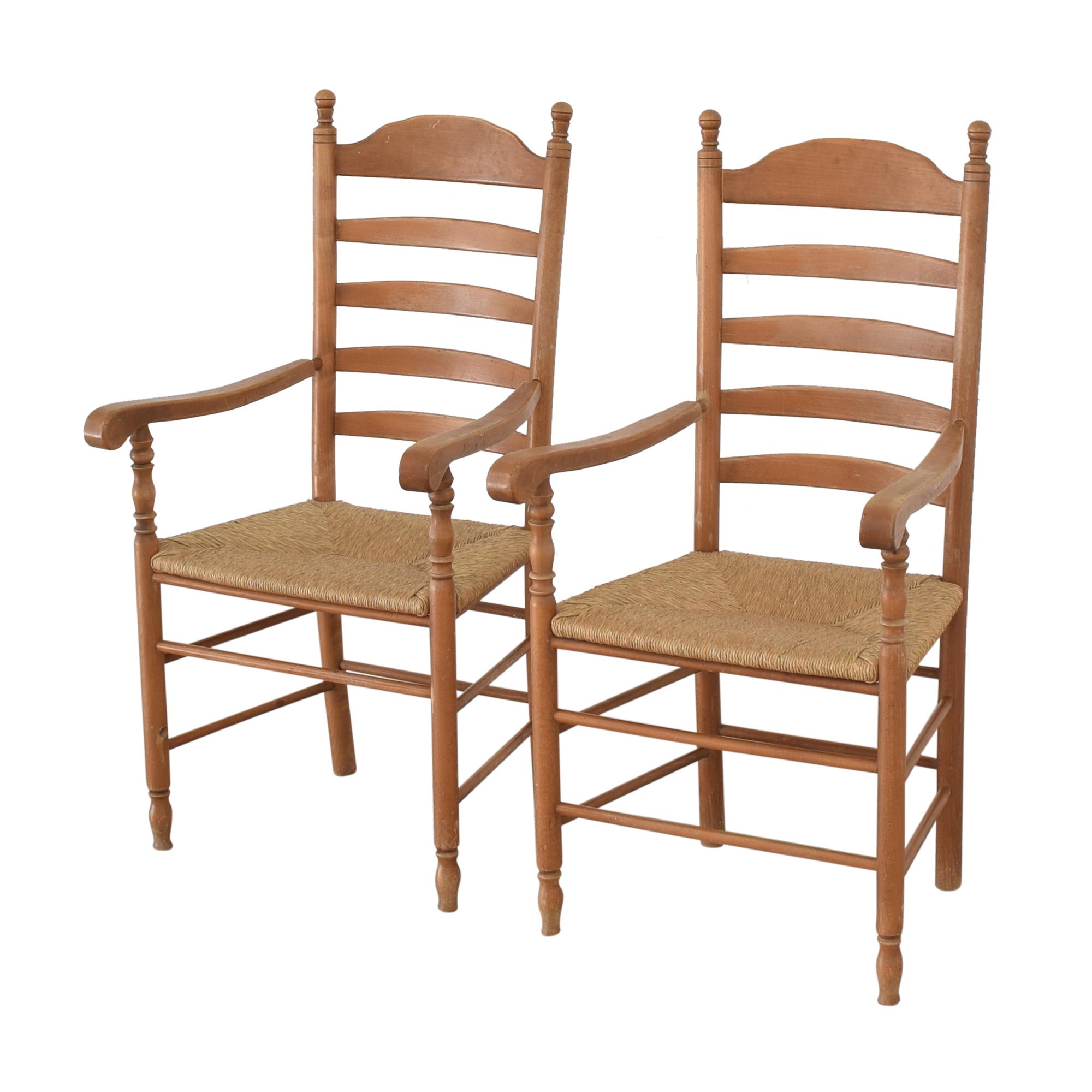 Custom Tall Back Arm Chairs sale