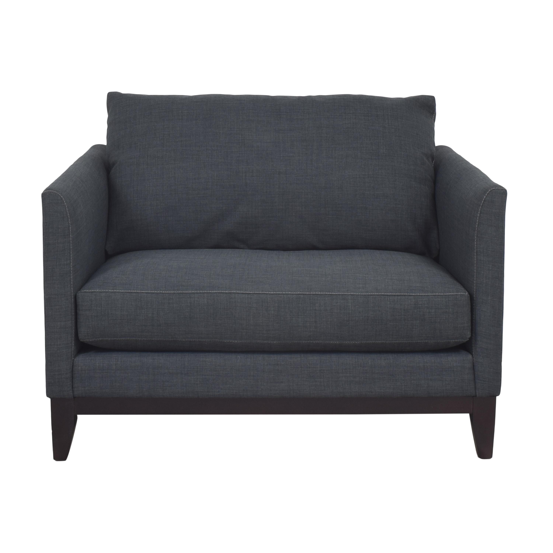 shop ABC Carpet & Home Hampton Chair and a Half ABC Carpet & Home Accent Chairs