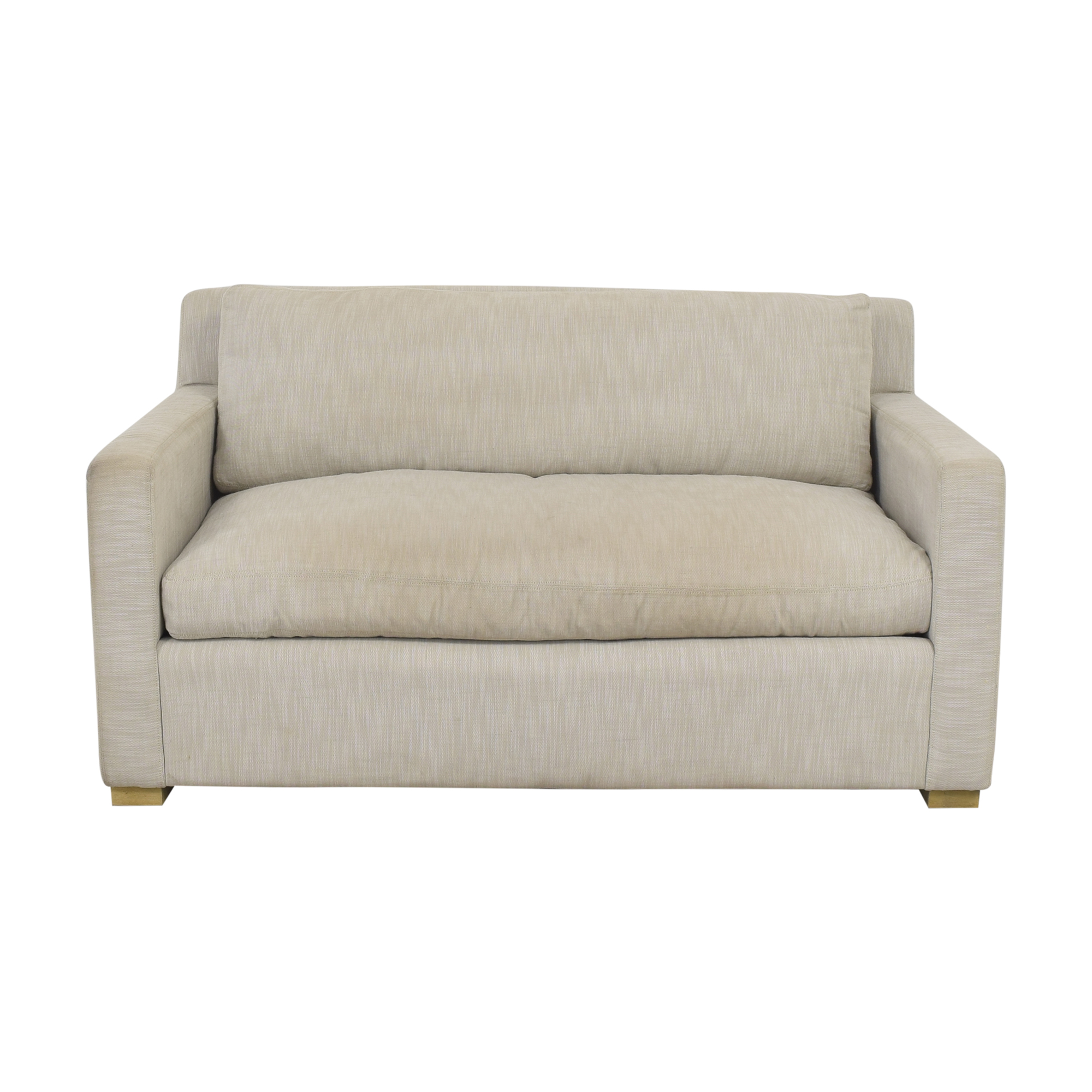 Restoration Hardware Restoration Hardware Belgian Track Arm Sofa for sale