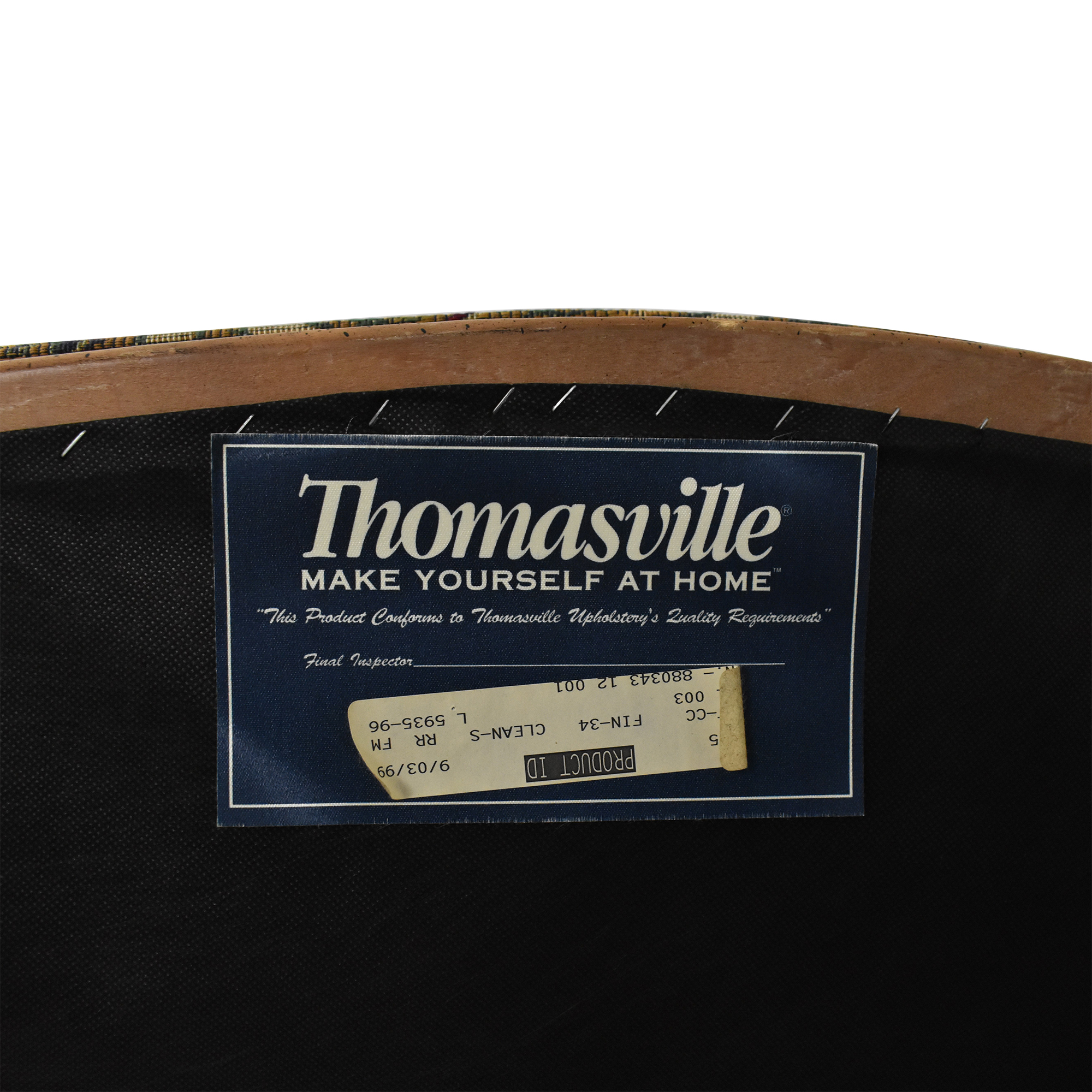 buy Thomasville Bergere Chair and Ottoman Thomasville