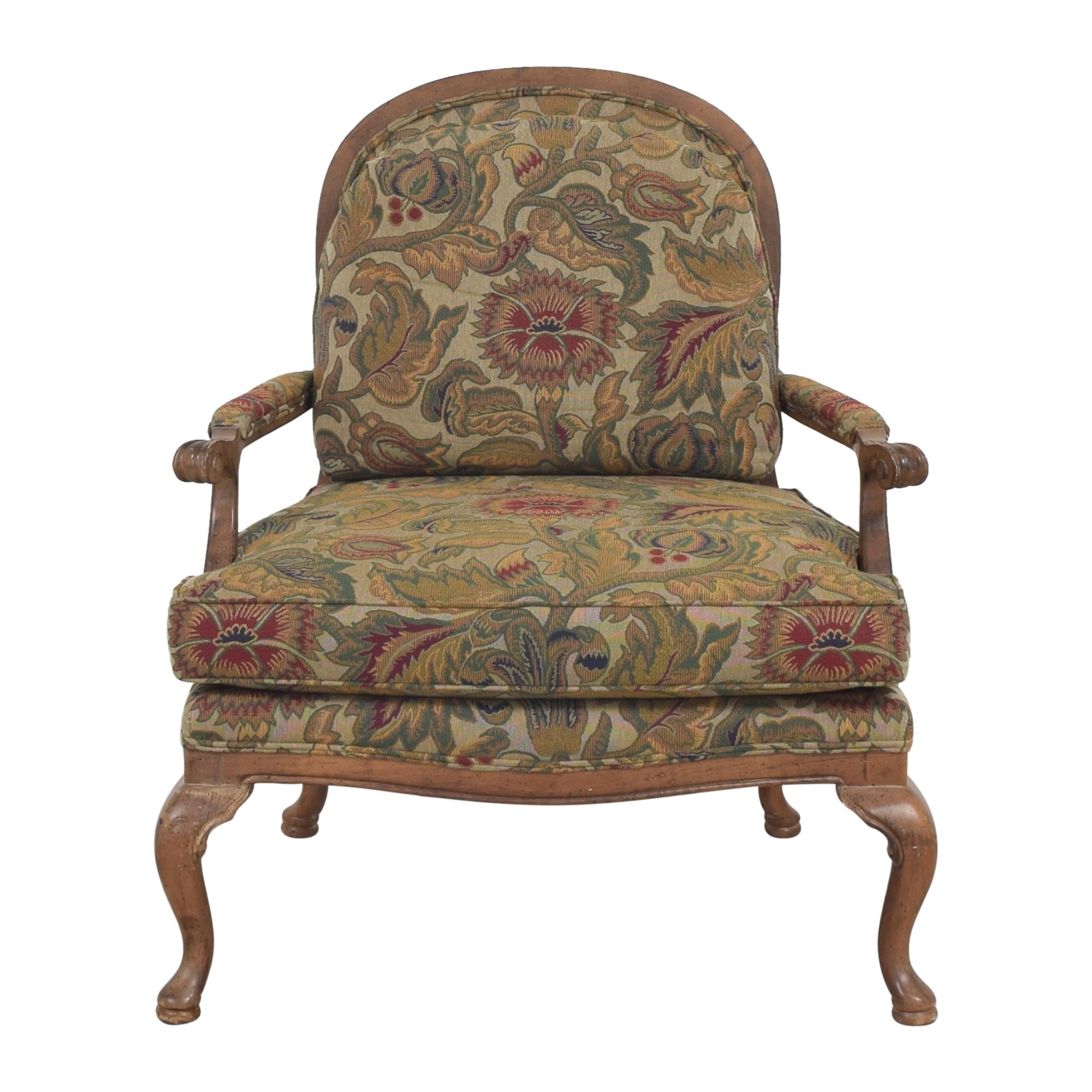 Thomasville Thomasville Bergere Chair and Ottoman nj