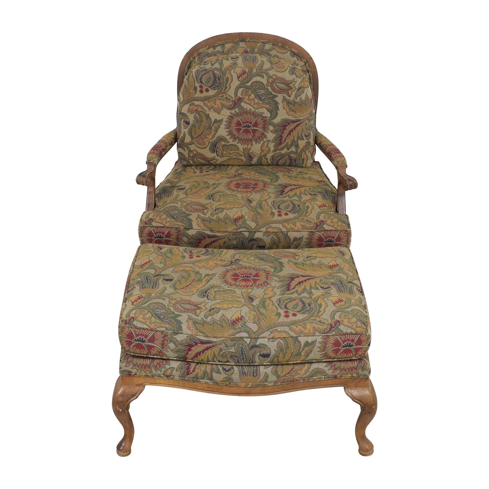 Thomasville Thomasville Bergere Chair and Ottoman price