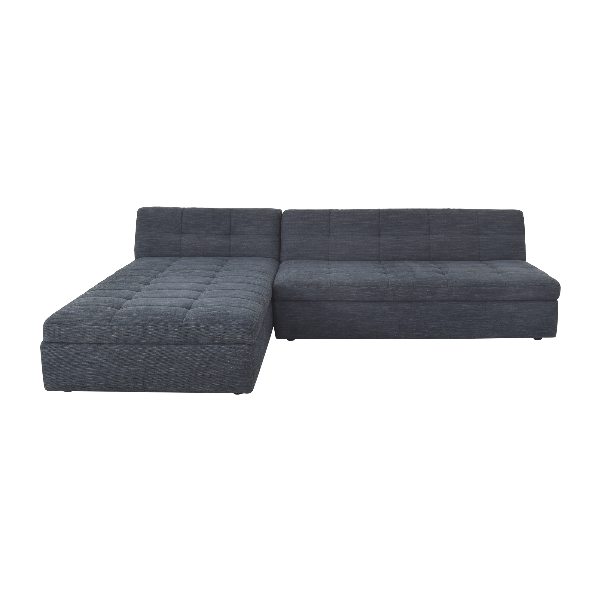 West Elm West Elm Chaise Sectional with Storage