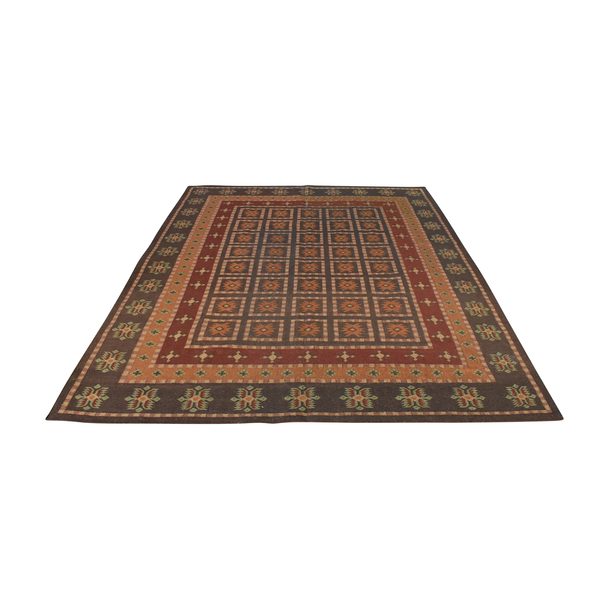 Pottery Barn Pottery Barn Patterned Area Rug dimensions