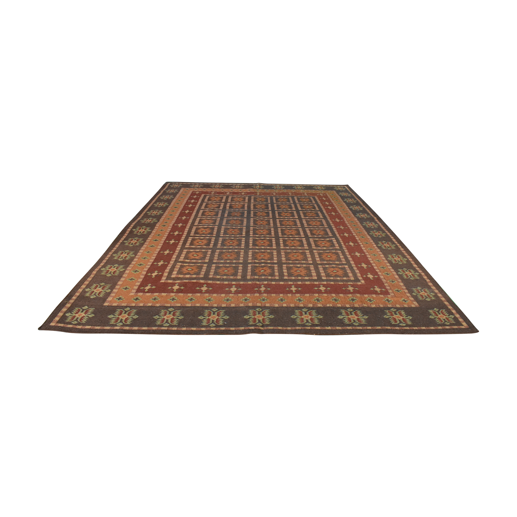 Pottery Barn Pottery Barn Patterned Area Rug used