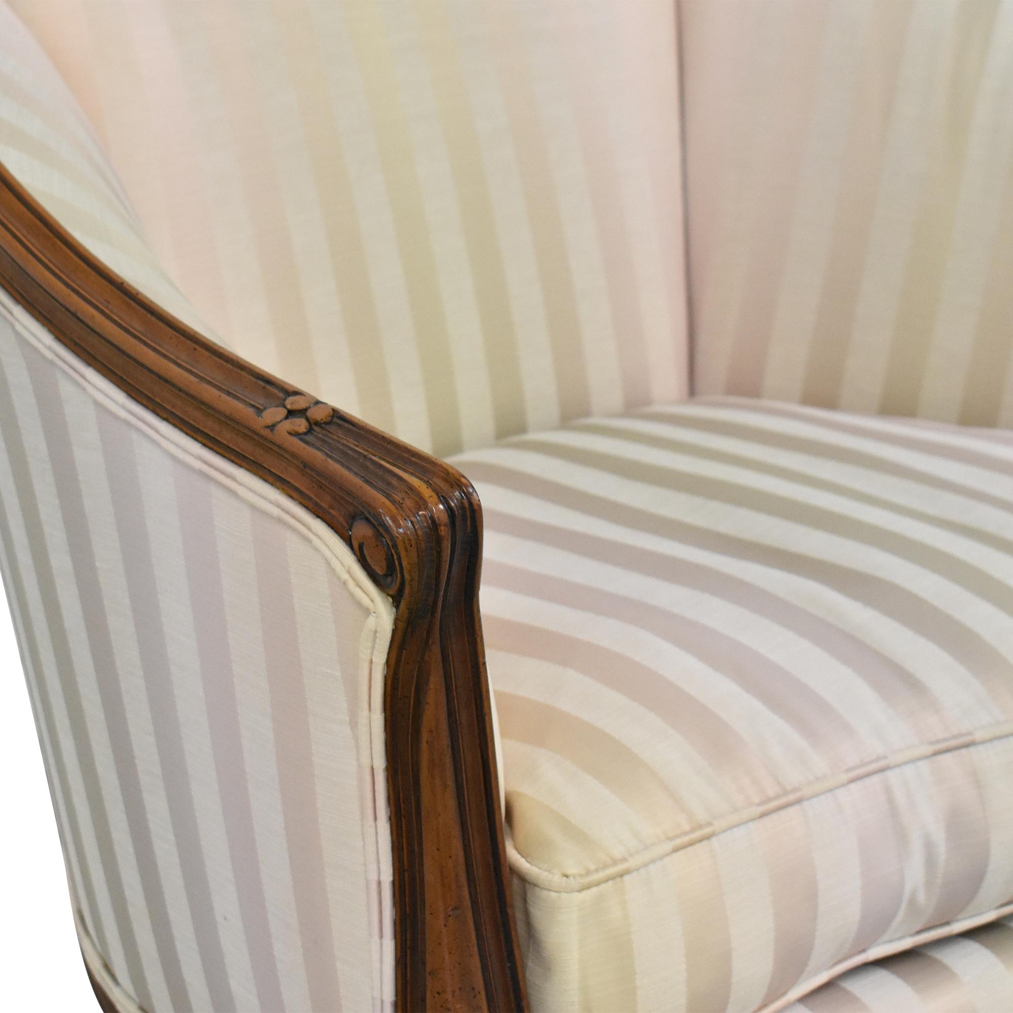 Century Furniture Barrel Accent Chair sale
