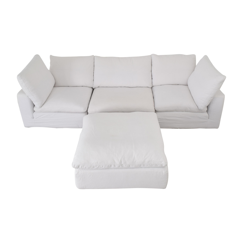 Restoration Hardware Cloud Modular Sofa / Sofas