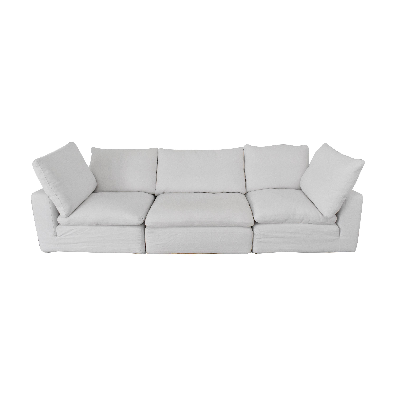 buy Restoration Hardware Cloud Modular Sofa Restoration Hardware Sectionals