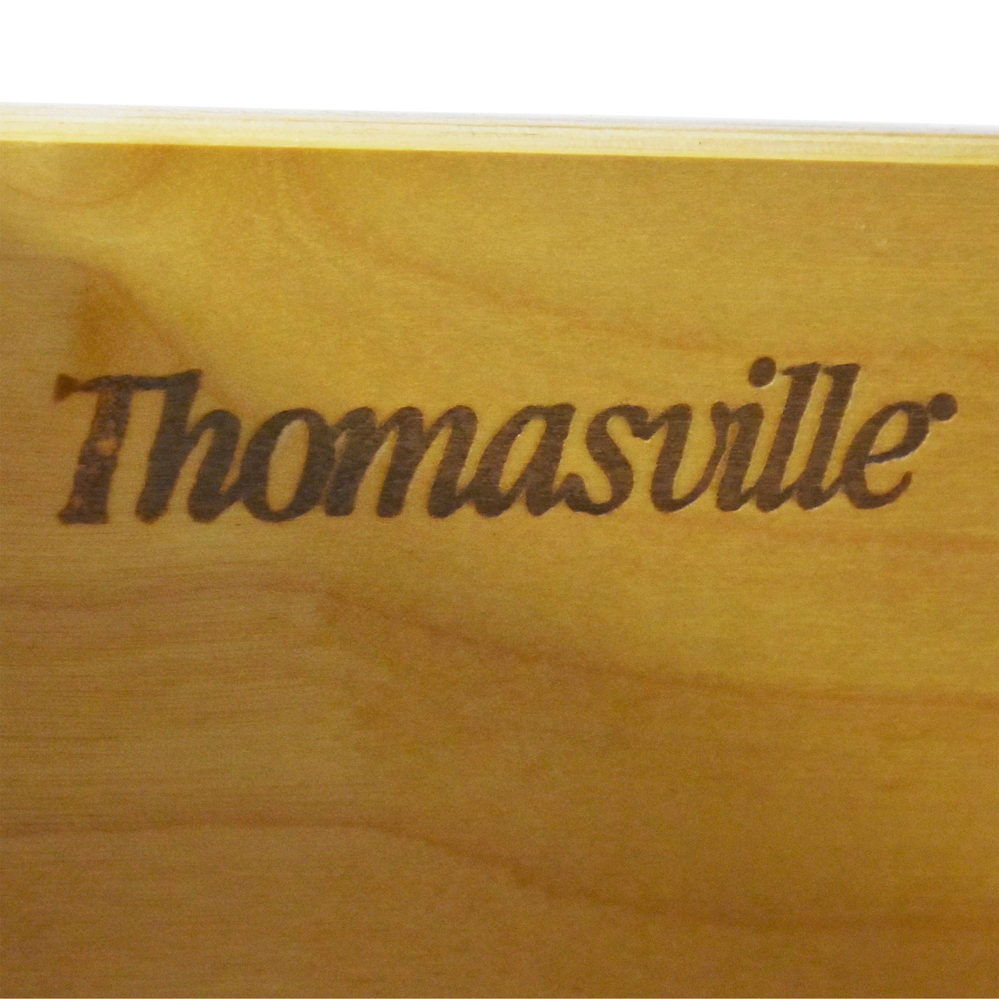 buy Thomasville Twelve Drawer Dresser with Mirror Thomasville Storage