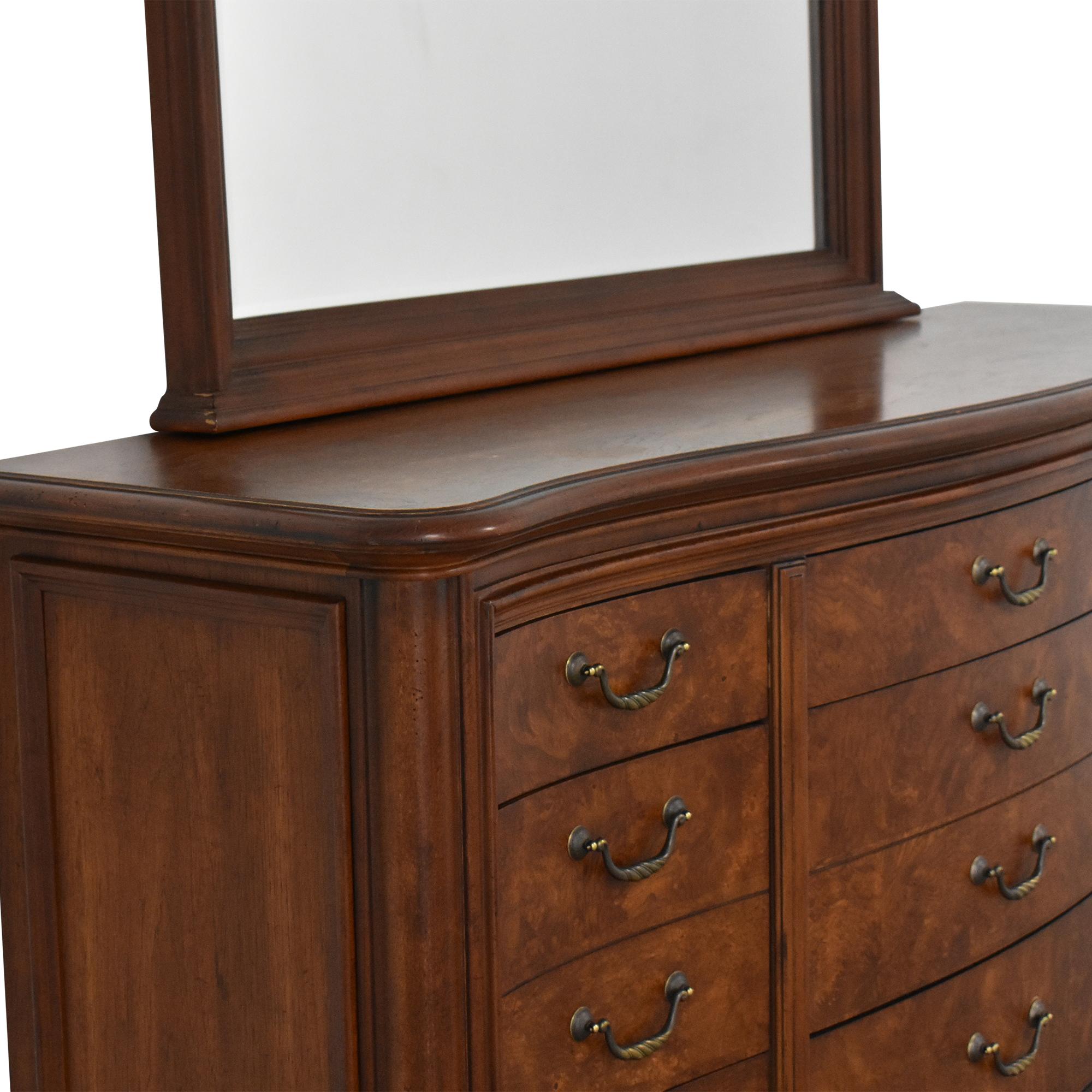 Thomasville Thomasville Twelve Drawer Dresser with Mirror nyc