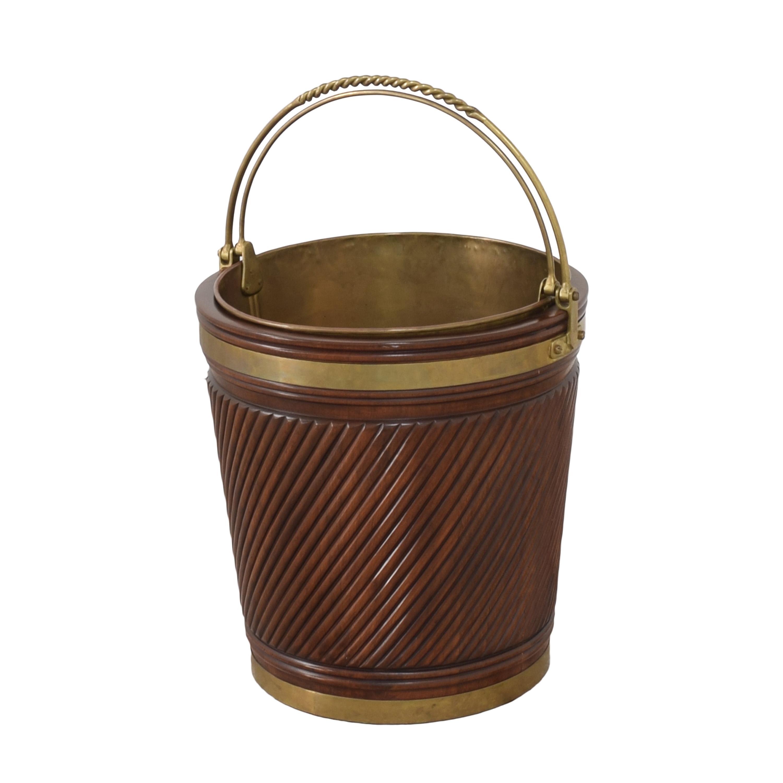 shop Vintage Irish Peat Bucket  Decorative Accents