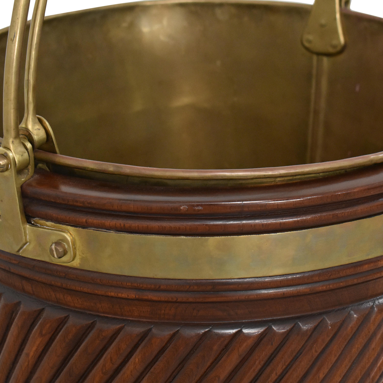 Vintage Irish Peat Bucket dimensions
