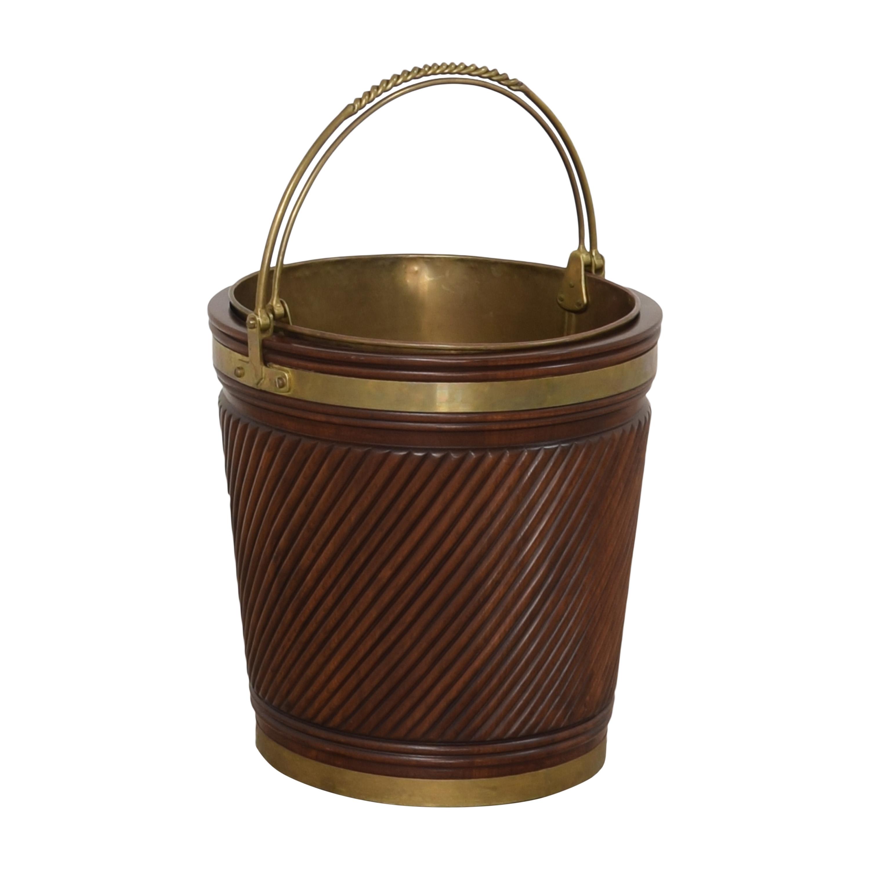 Vintage Irish Peat Bucket pa