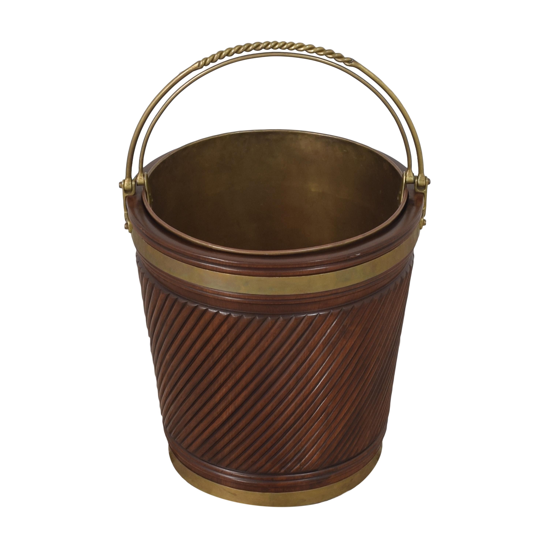 Vintage Irish Peat Bucket ct