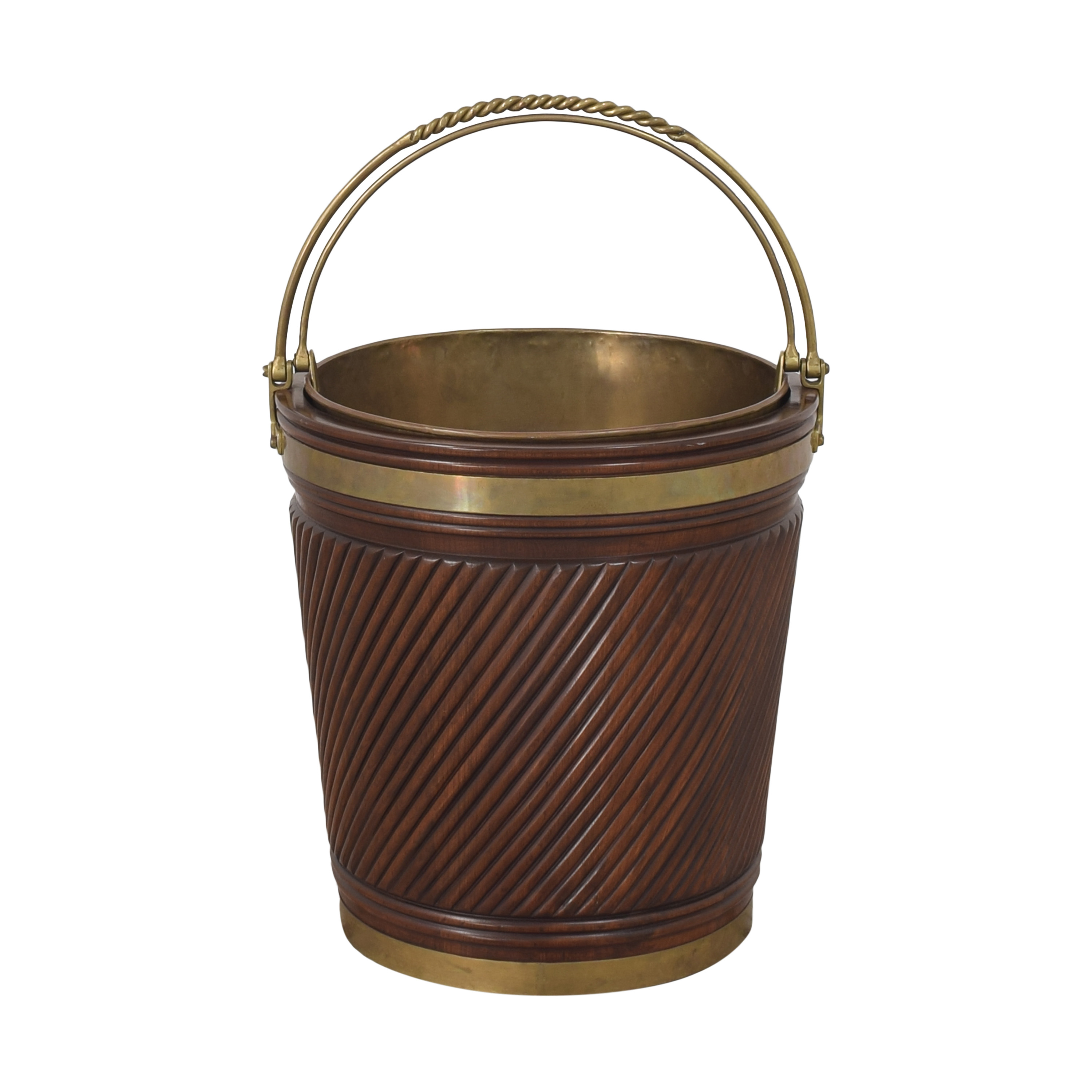 buy Vintage Irish Peat Bucket  Decorative Accents