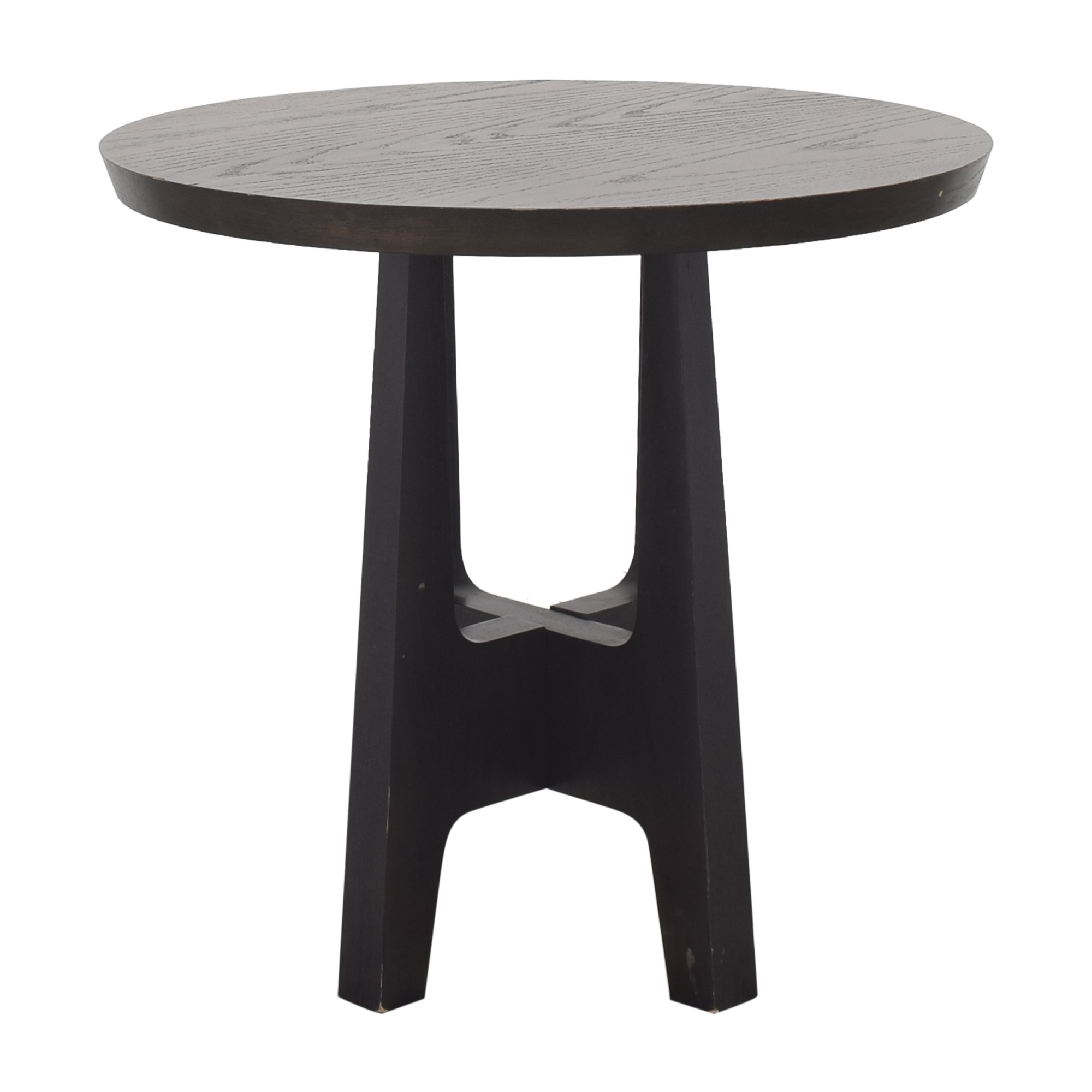Crate & Barrel Crate & Barrel Round End Table pa