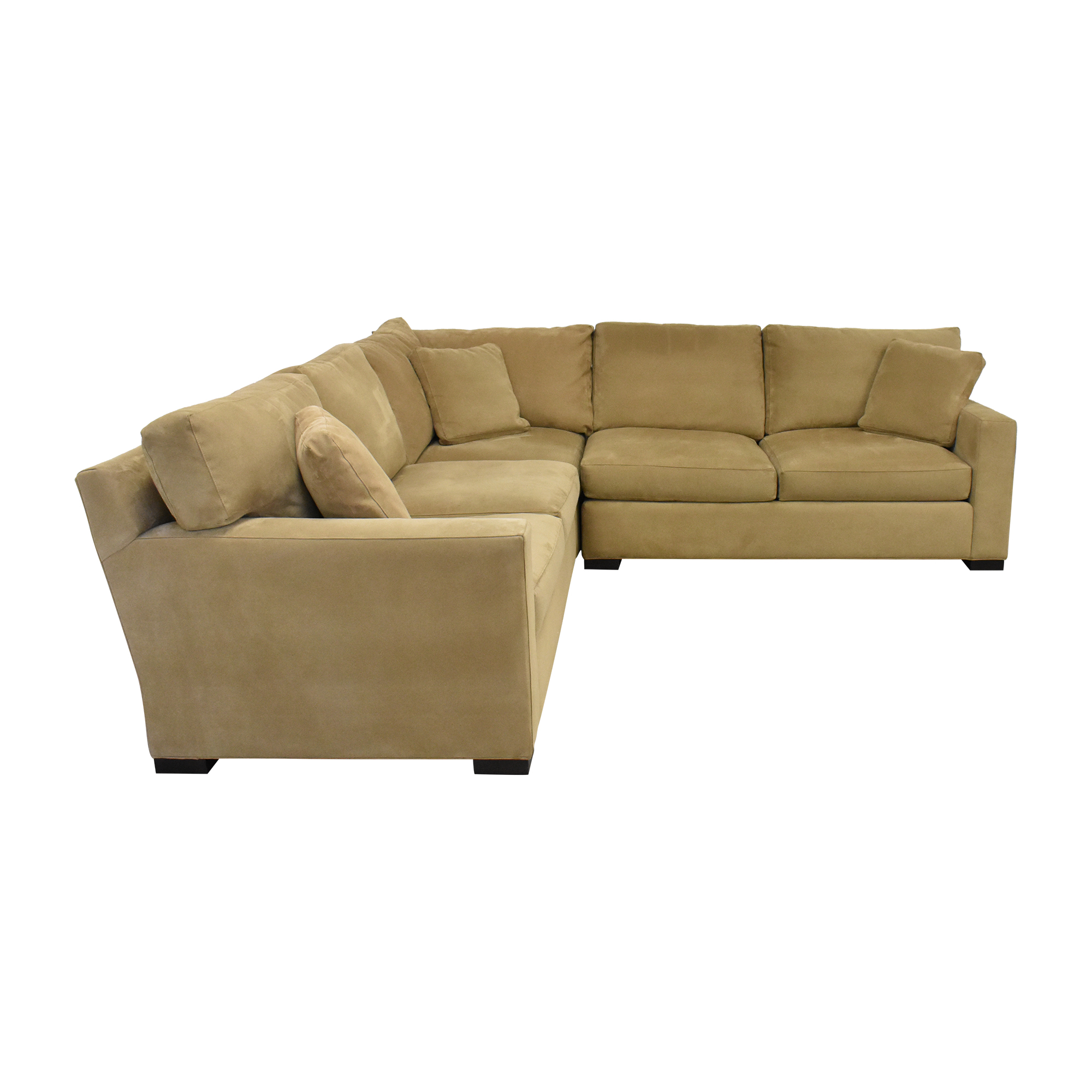 Crate & Barrel Axis II Three Piece Sectional Sofa sale