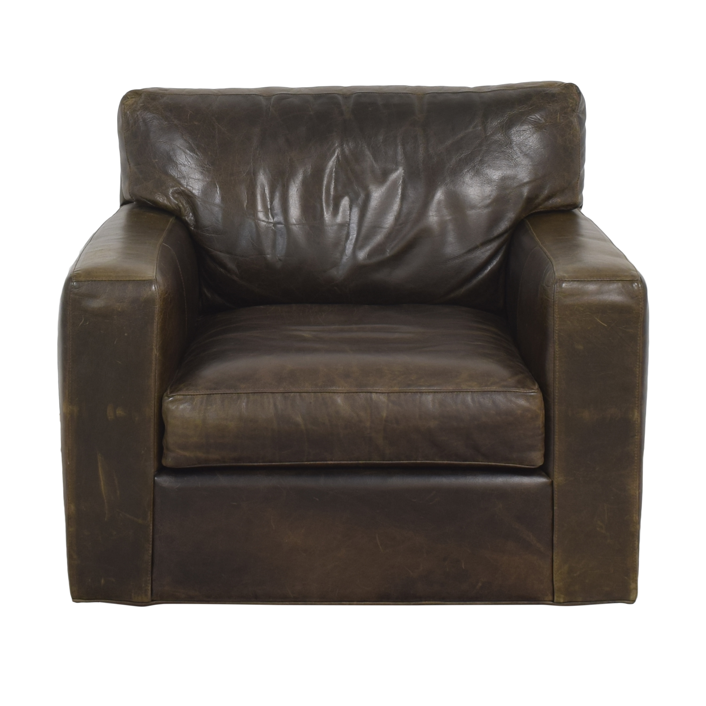 Crate & Barrel Crate & Barrel Axis 2 Swivel Chair discount