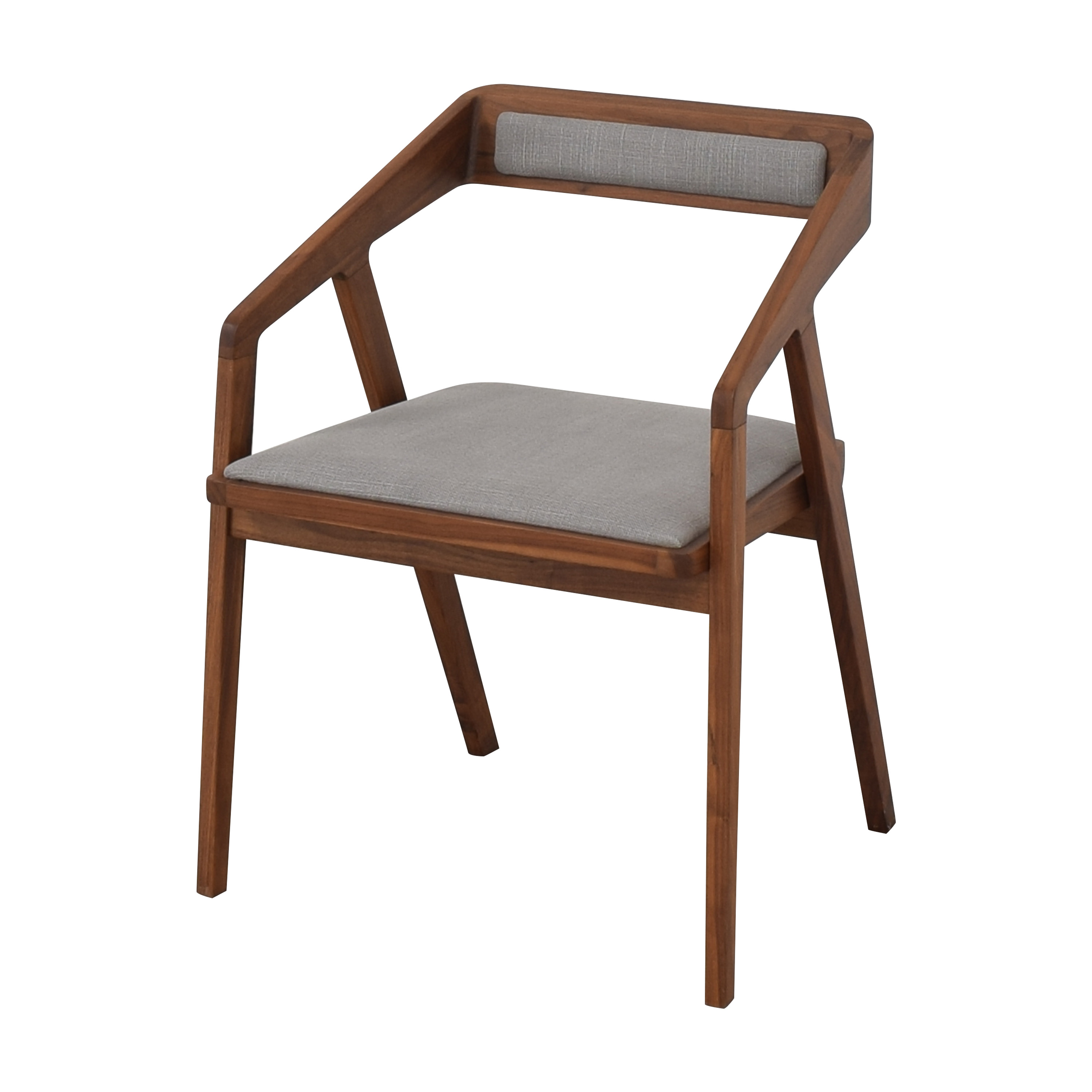 Jayson Home Jayson Home Side Chair dark brown and gray