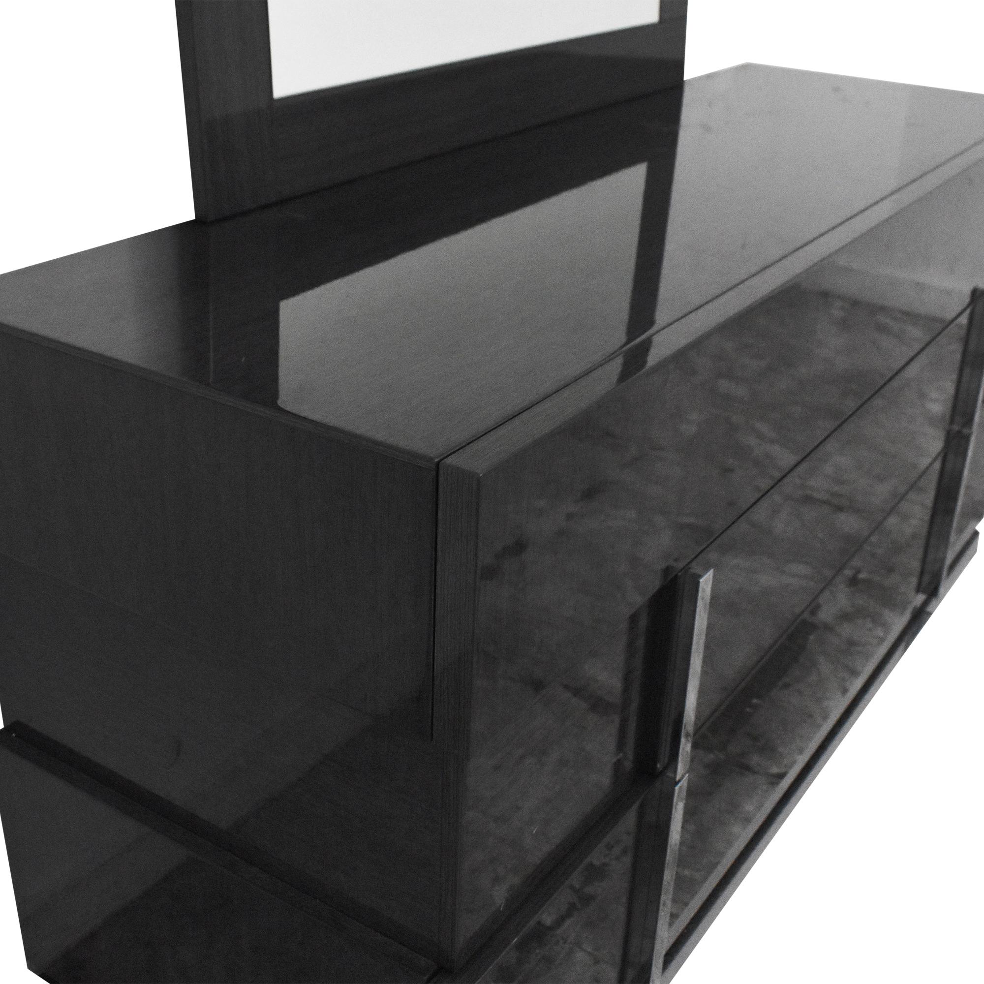 shop Alf Italia Montecarlo Dresser with Mirror Alf Italia