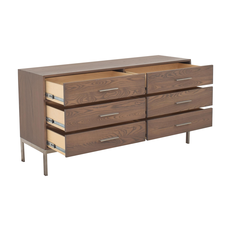 Room & Board Baker Six Drawer Dresser / Storage