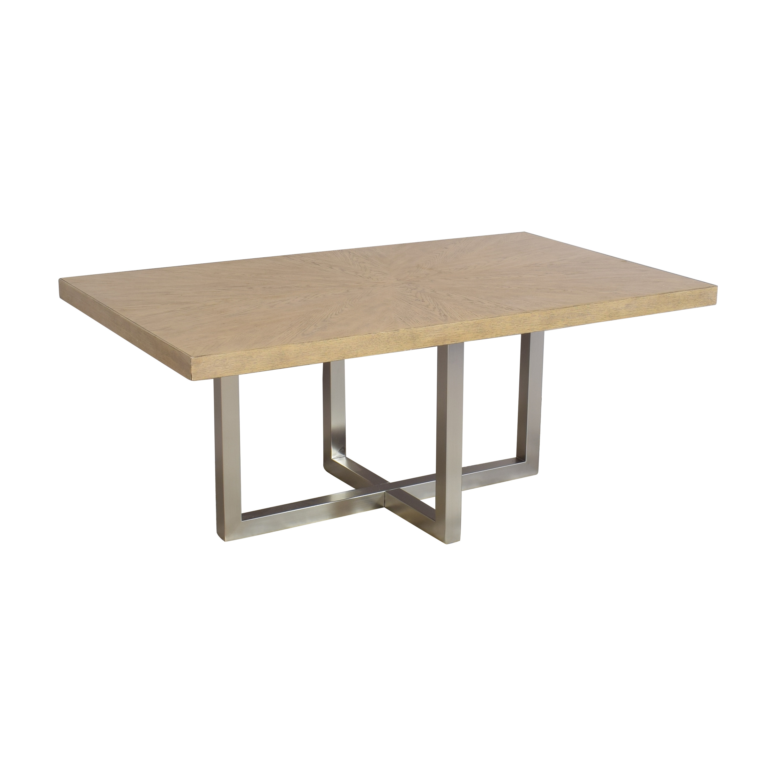 Macy's Macy's Altair Contemporary Dining Table dimensions