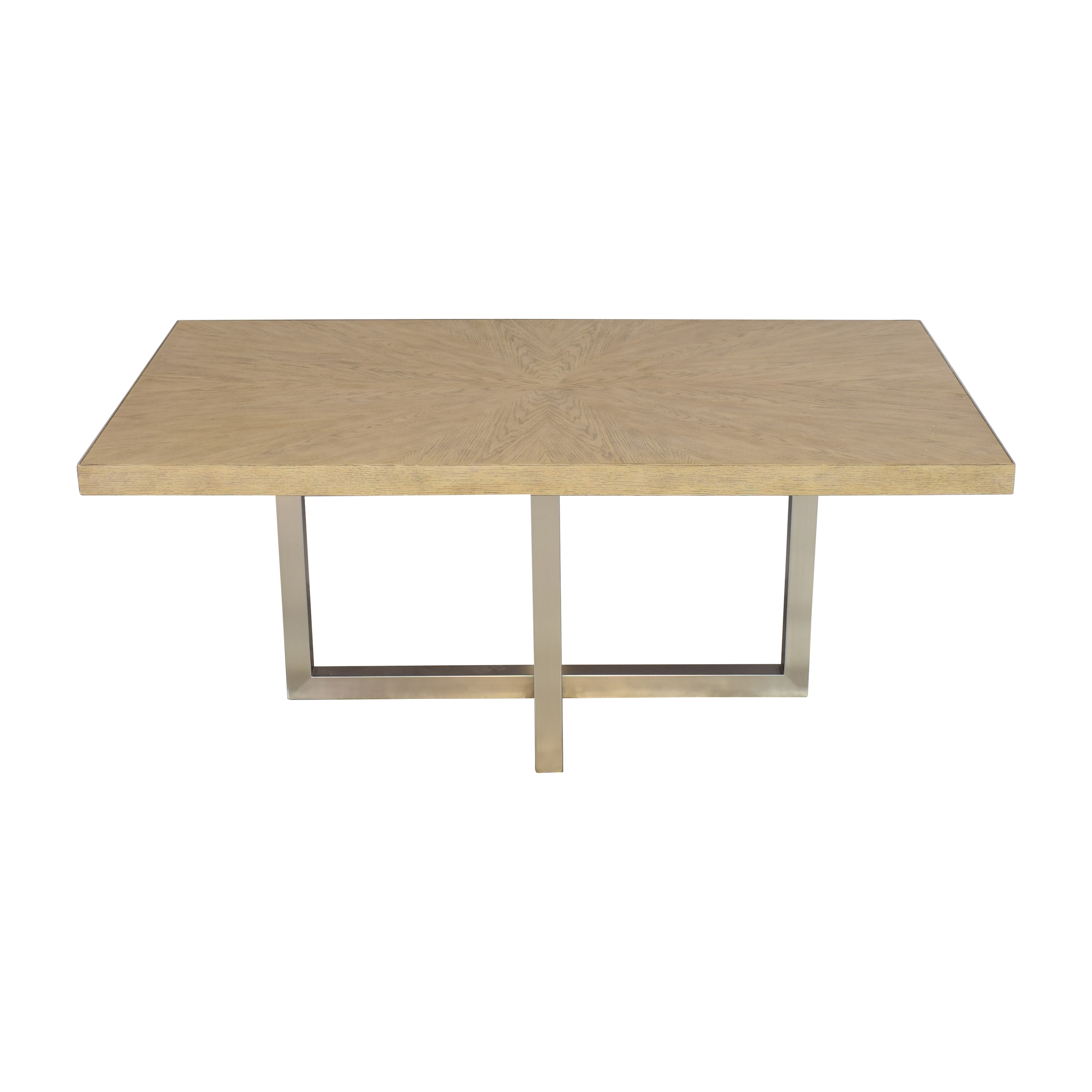 Macy's Macy's Altair Contemporary Dining Table for sale