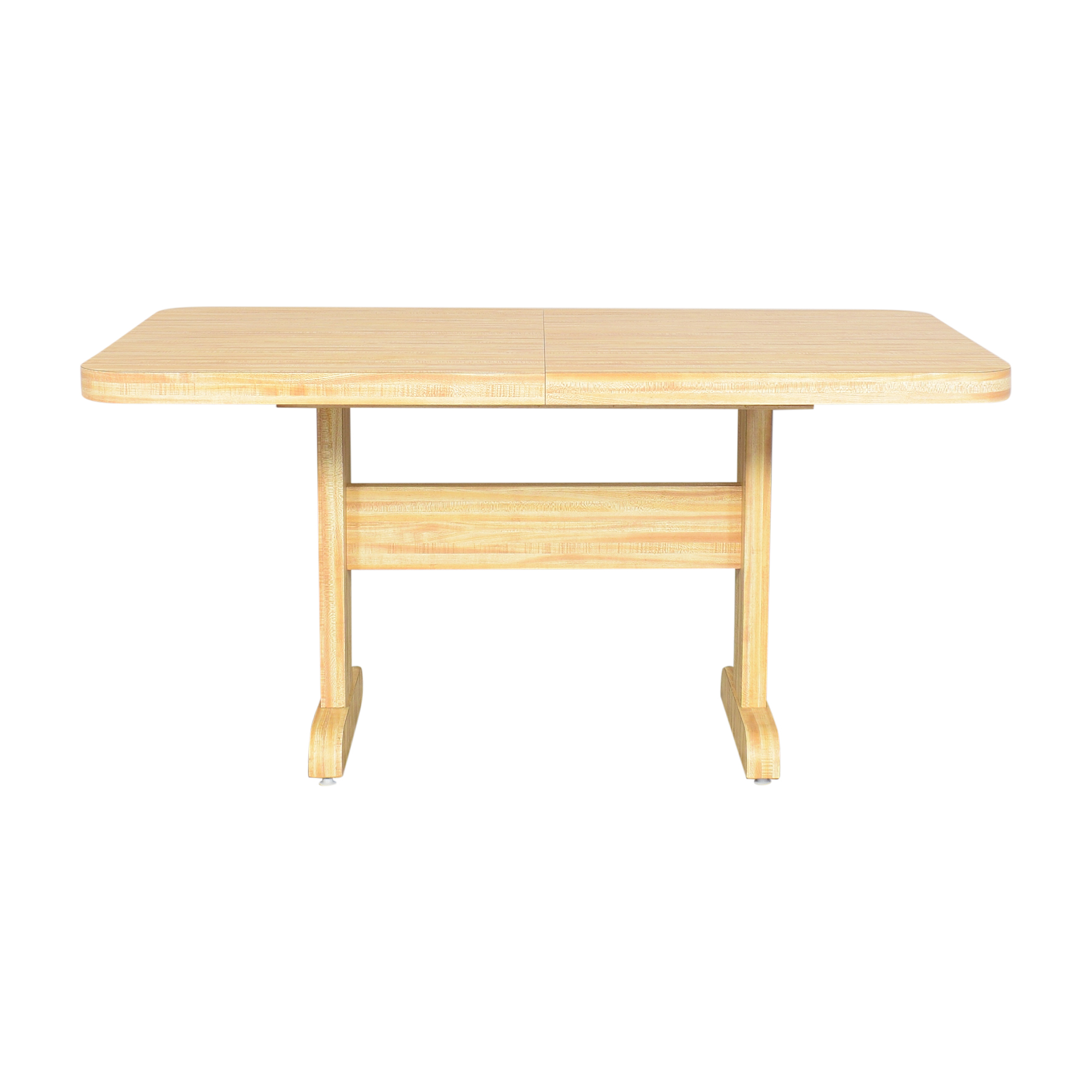Adirondack Table & Slide Extendable Dining Table dimensions