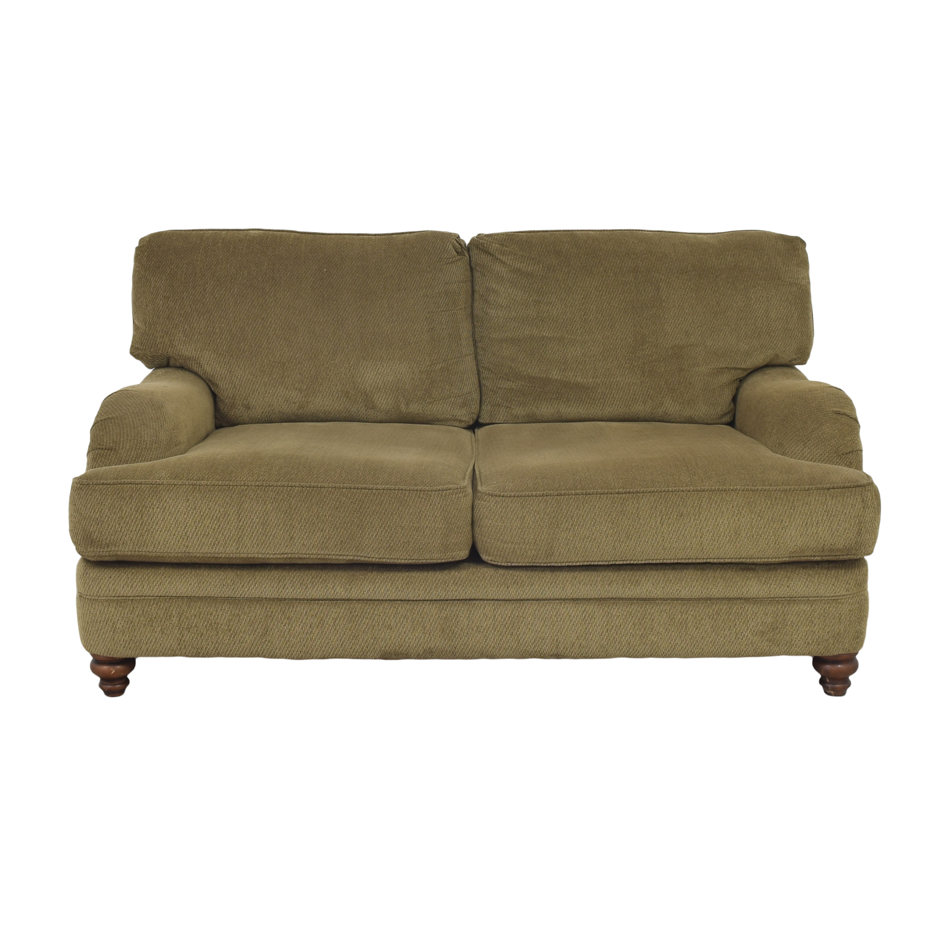 buy Raymour & Flanigan Chenille Loveseat Raymour & Flanigan Loveseats